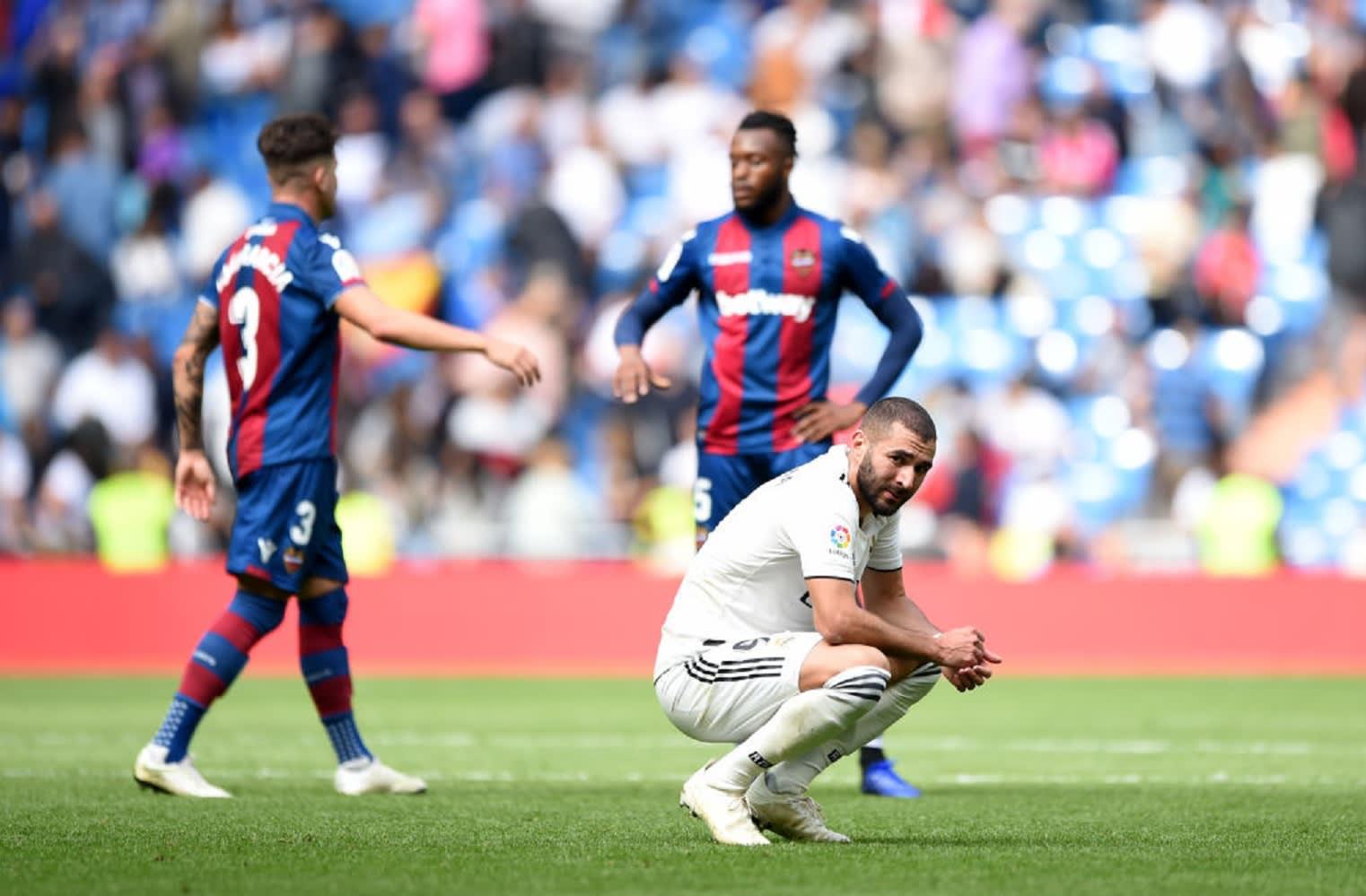 ريـال مدريد يسجل رابع خسارة له في آخر 5 مباريات