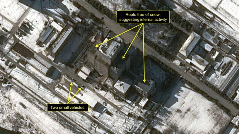 """صور الأقمار الصناعية تُظهر """"تصاعداً في النشاطات"""" بموقع مفاعل نووي في كوريا الشمالية"""