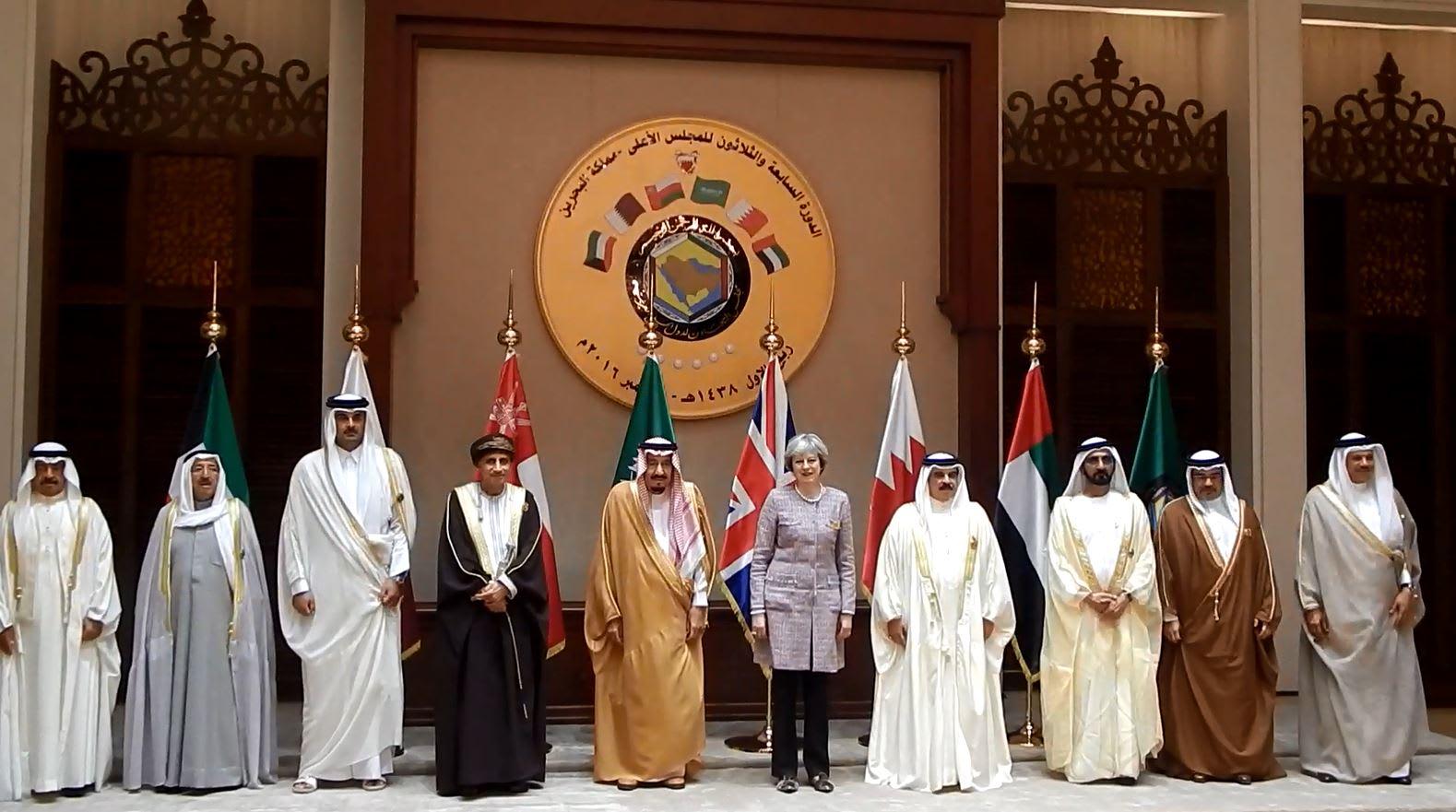 تيريزا ماي: أمن الخليج من أمن بريطانيا.. ومستعدون للتعاون المشترك لمواجهة إيران في سوريا واليمن والخليج