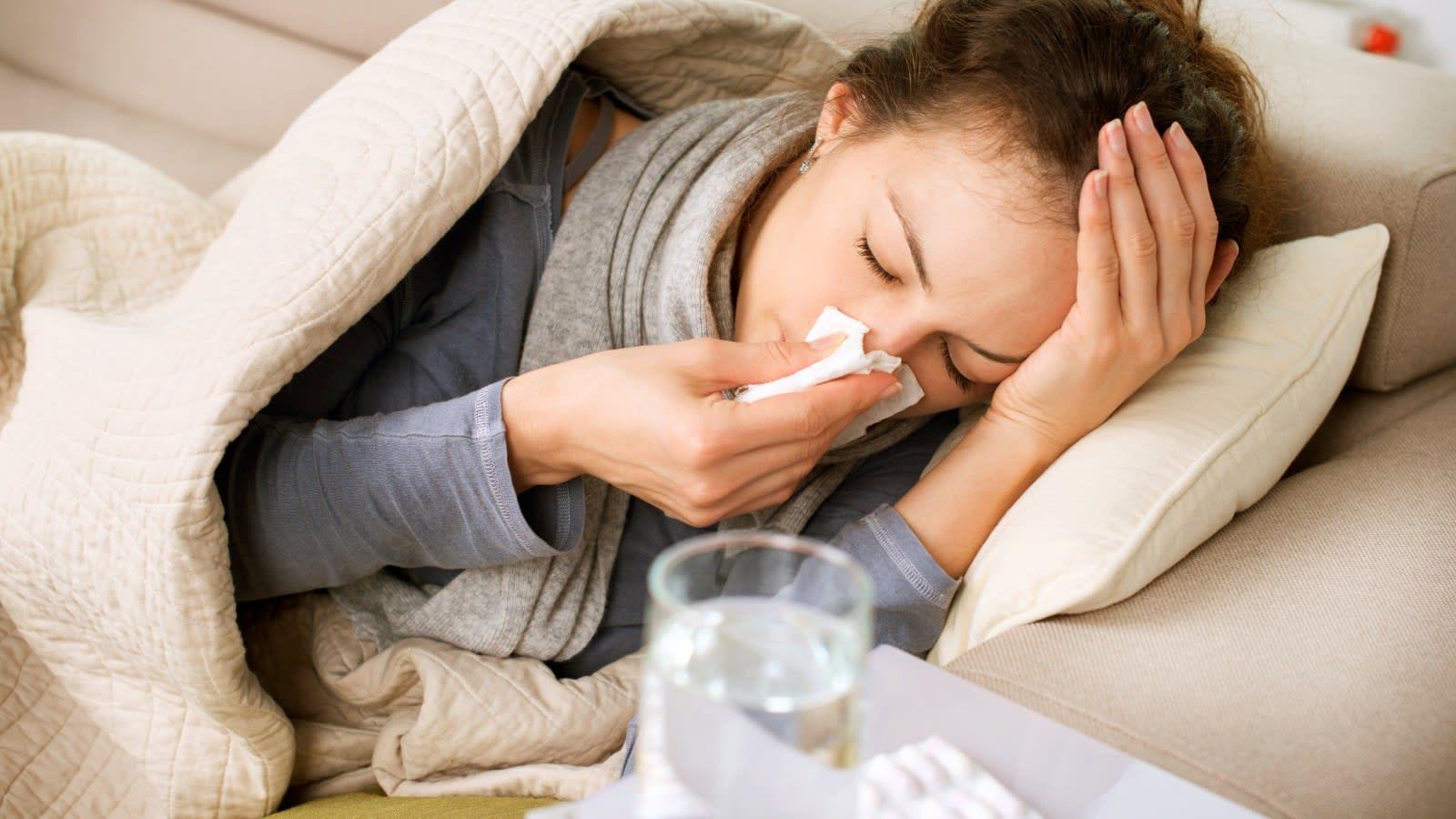 صورة لا تعاني من نزلات البرد