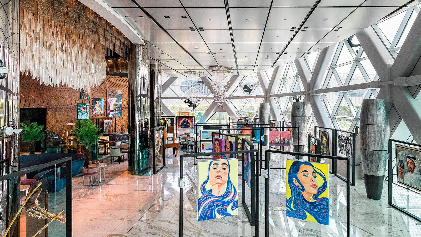 The Andaz puts Emirati art center stage
