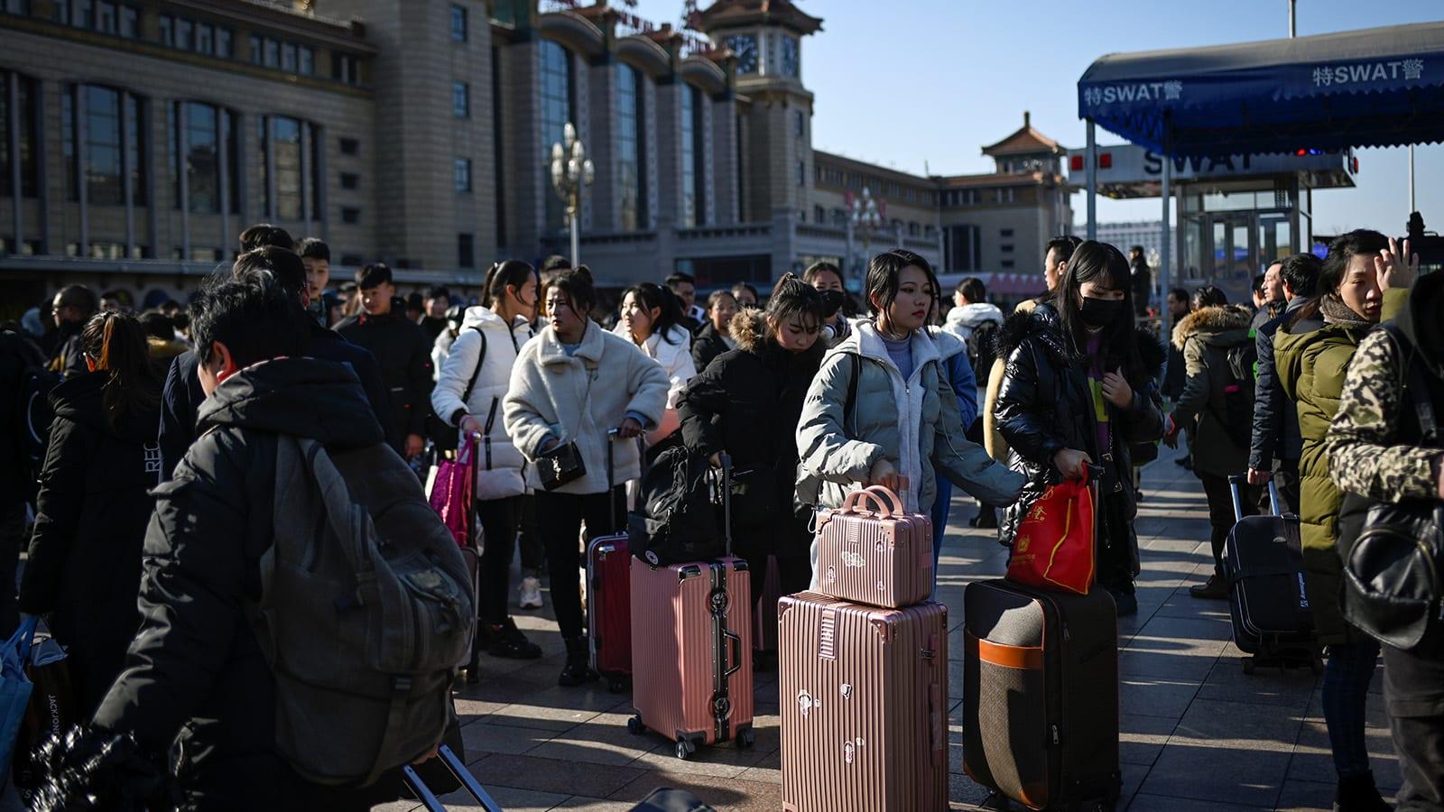 """احتفال """"تشونيون"""" بالصين.. بداية أكبر هجرة بشرية في العالم"""