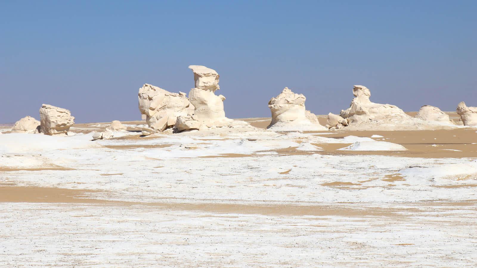 الصحراء البيضاء في مصر