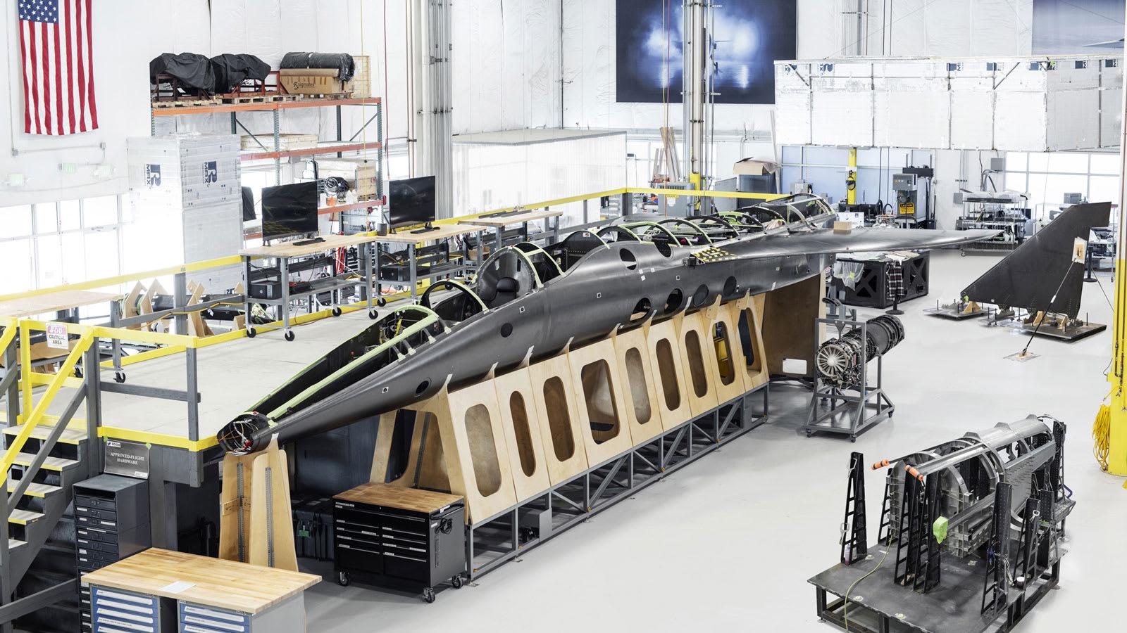 هل هذا مستقبل الطيران؟ طائرة أسرع من الصوت تستعد للإقلاع في 2021