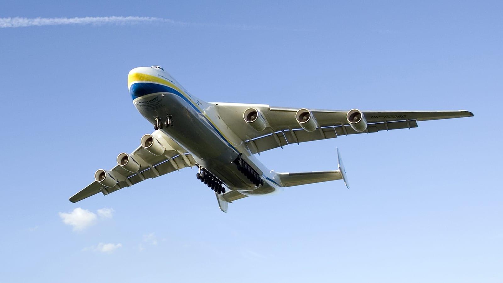 ولدت من رحم الحرب الباردة..إليكم أكبر طائرة في العالم