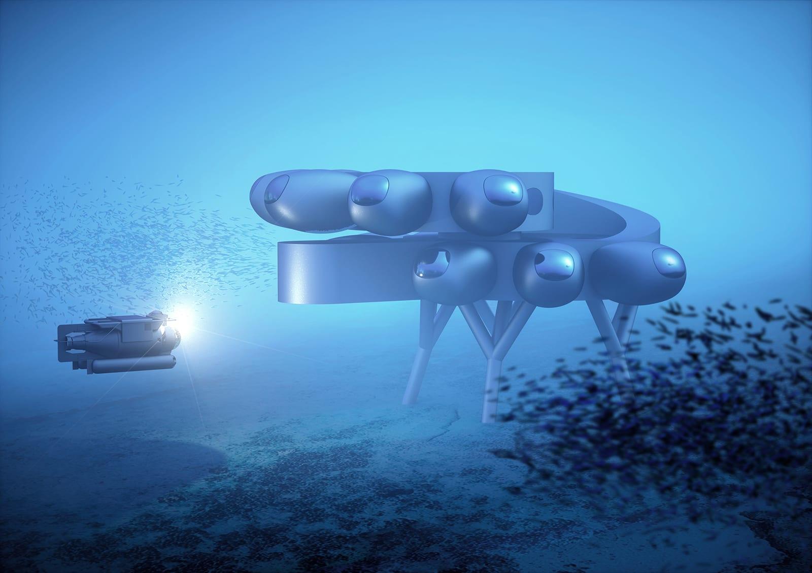 """كشف النقاب عن تصاميم طموحة لـ """"محطة الفضاء"""" ومستوطنة تحت الماء.. كيف ستبدو؟"""