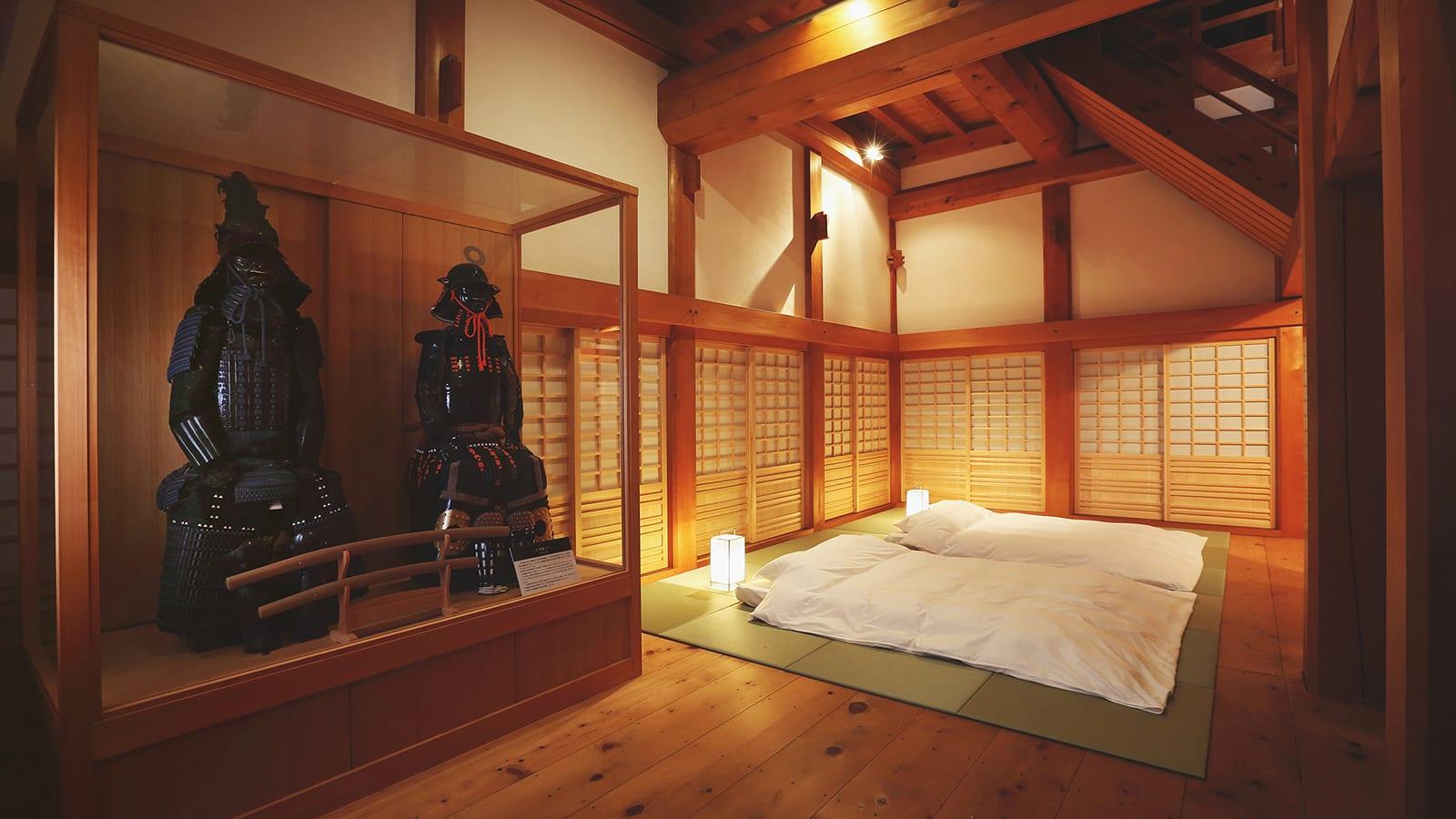 عش كأنك من زعماء القرون الوسطى في هذه القلعة باليابان