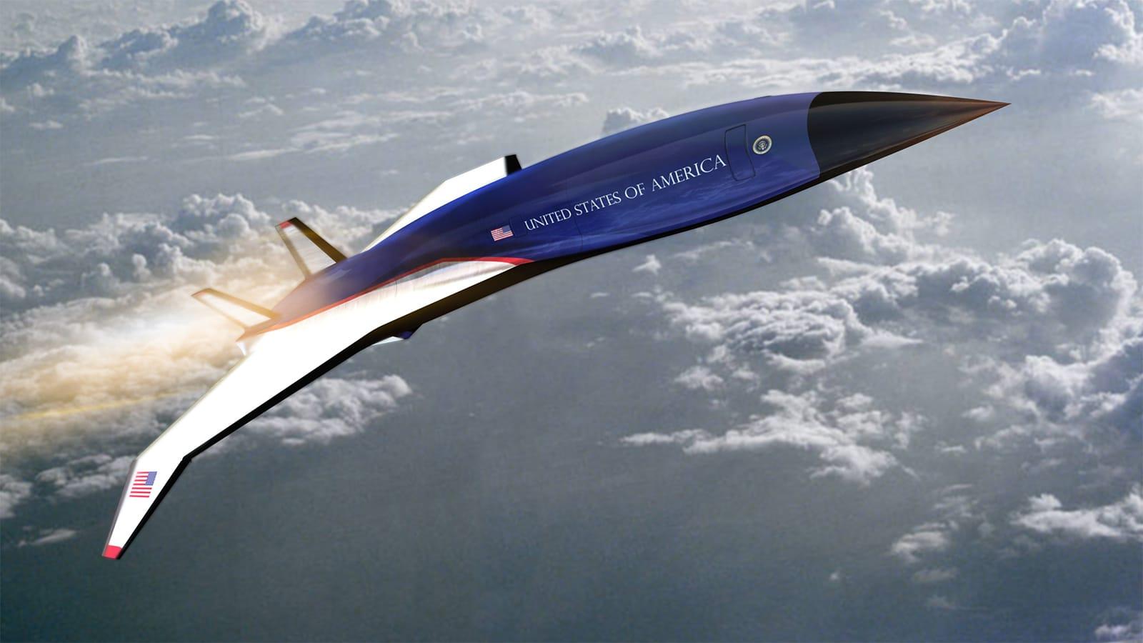 هل ستكون طائرة الرئاسة الأمريكية أسرع من الصوت بـ5 مرات بالمستقبل؟