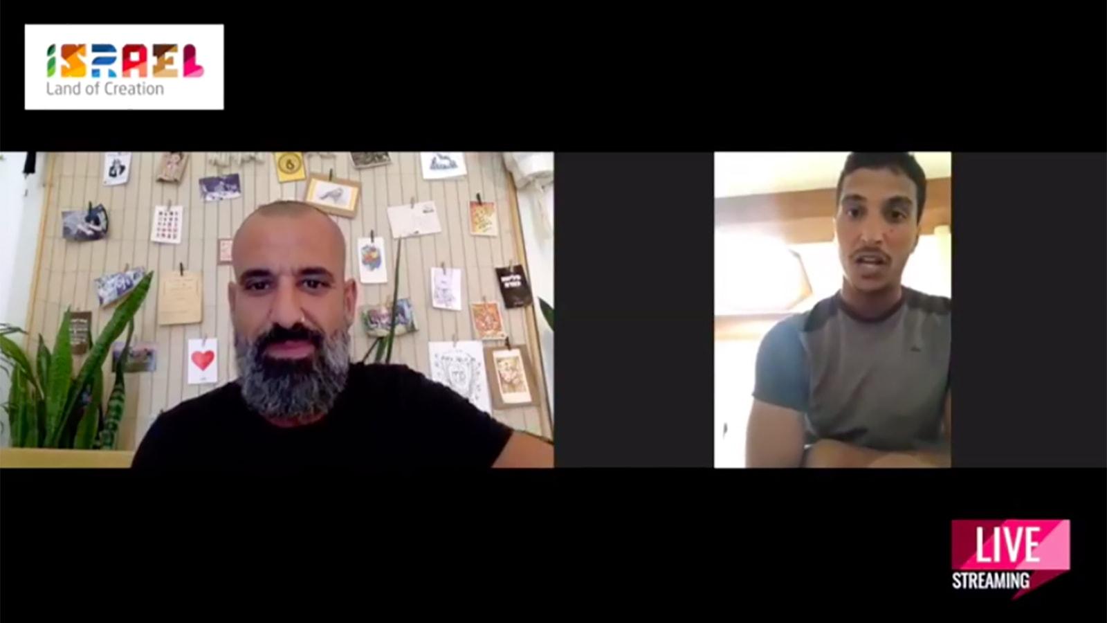 """بث مباشر عبر """"فيسبوك"""" يجمع بين خليفة المزروعي وبيليج كوهين"""