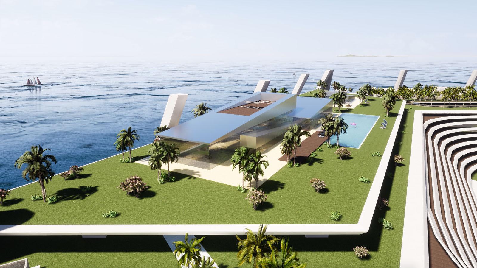 في هذه الجزيرة الاصطناعية الفاخرة.. يفوق سعر المنازل مليار دولار
