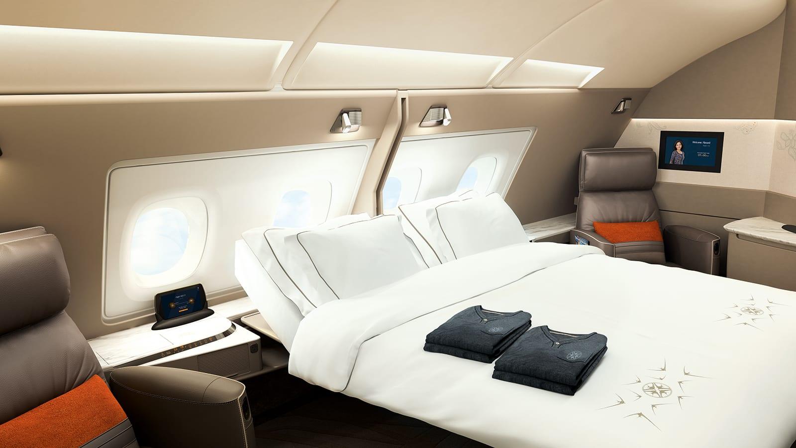 رفاهية بين السحب.. إليك أفضل الأسرة التي يمكن أن تستمتع بها على متن الطائرات