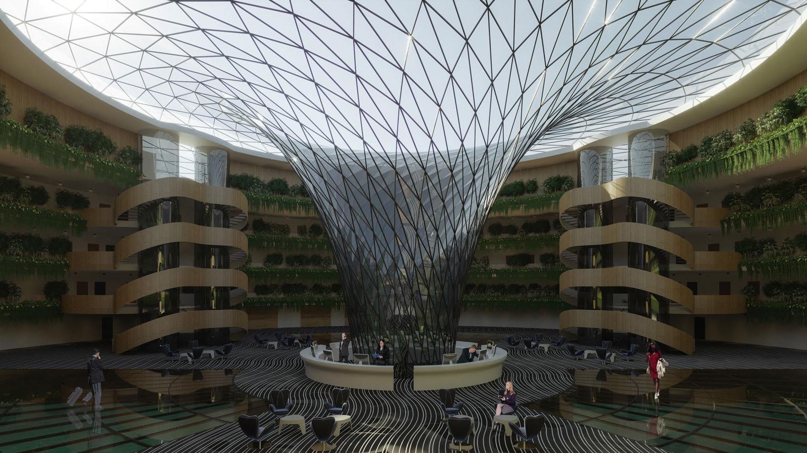 في قطر.. قد يتحول مفهوم فندق عائم ودوّار يصنع الكهرباء الخاص به إلى حقيقة
