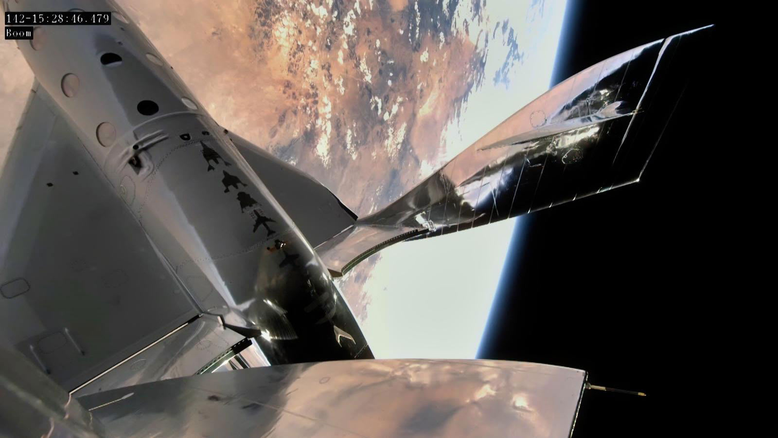 """""""فيرجن غالاكتيك"""" تطلق ثالث رحلة تجريبية ناجحة إلى الفضاء"""