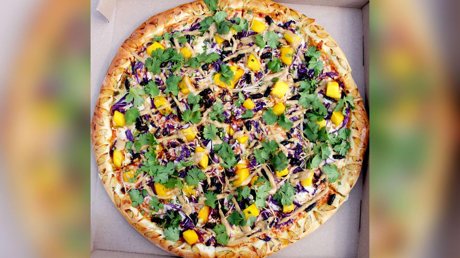 هل تجربه؟ مطعم بأمريكا يختبر طبق بيتزا يتزين بحشرات السيكادا
