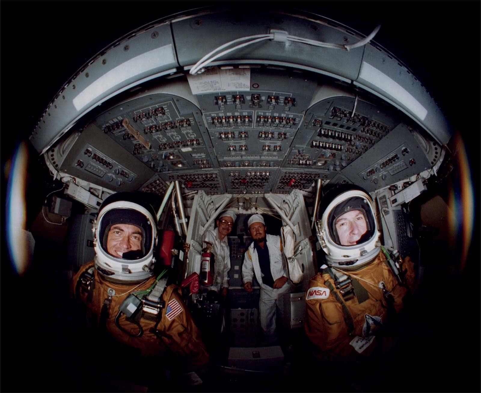 """صور نادرة تُظهر الأعوام الأولى من عصر مكوك الفضاء لوكالة """"ناسا"""""""