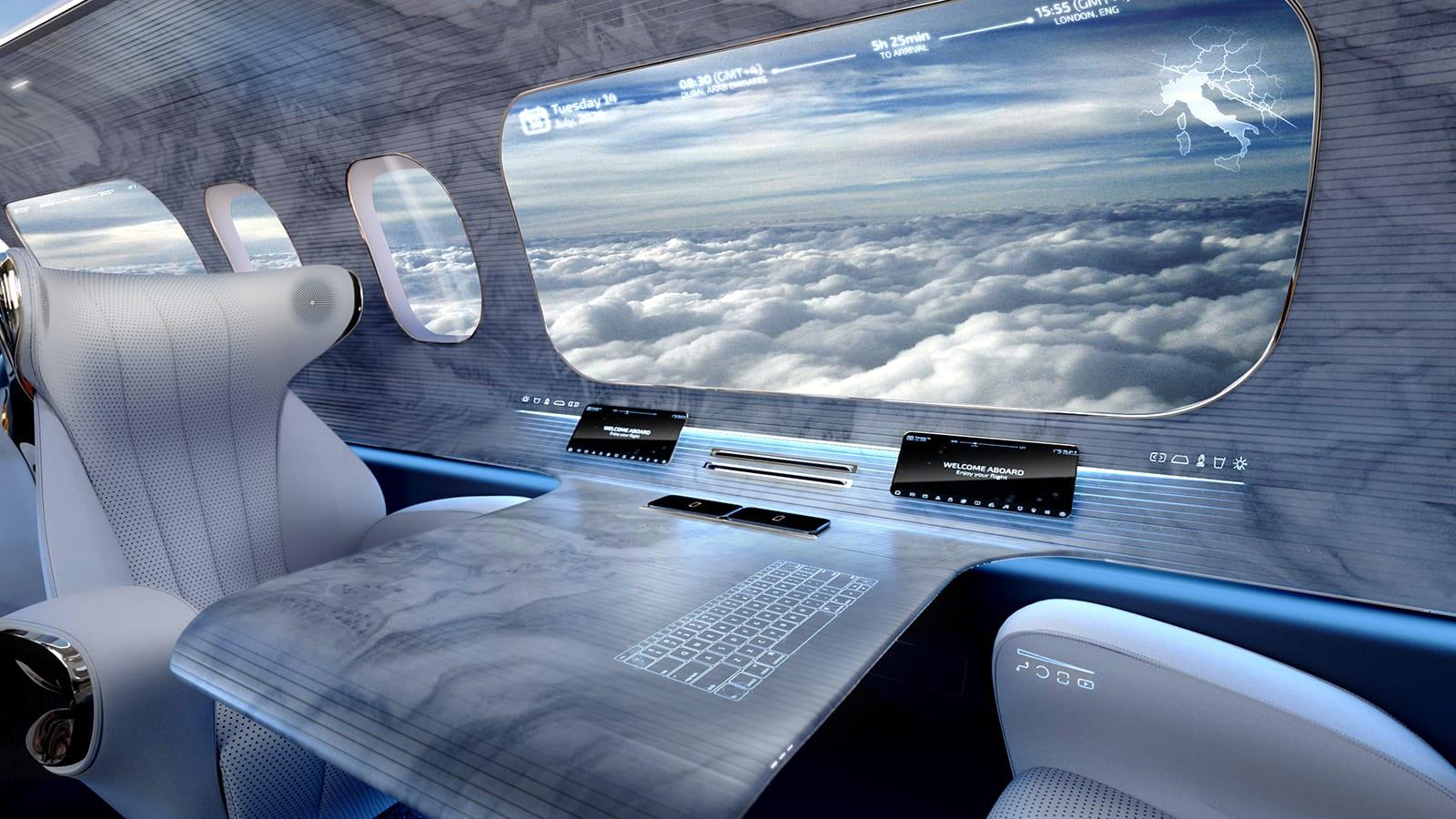 تصميم طائرة بلا نوافذ..كيف سيغيّر من مستقبل السفر الجوي؟
