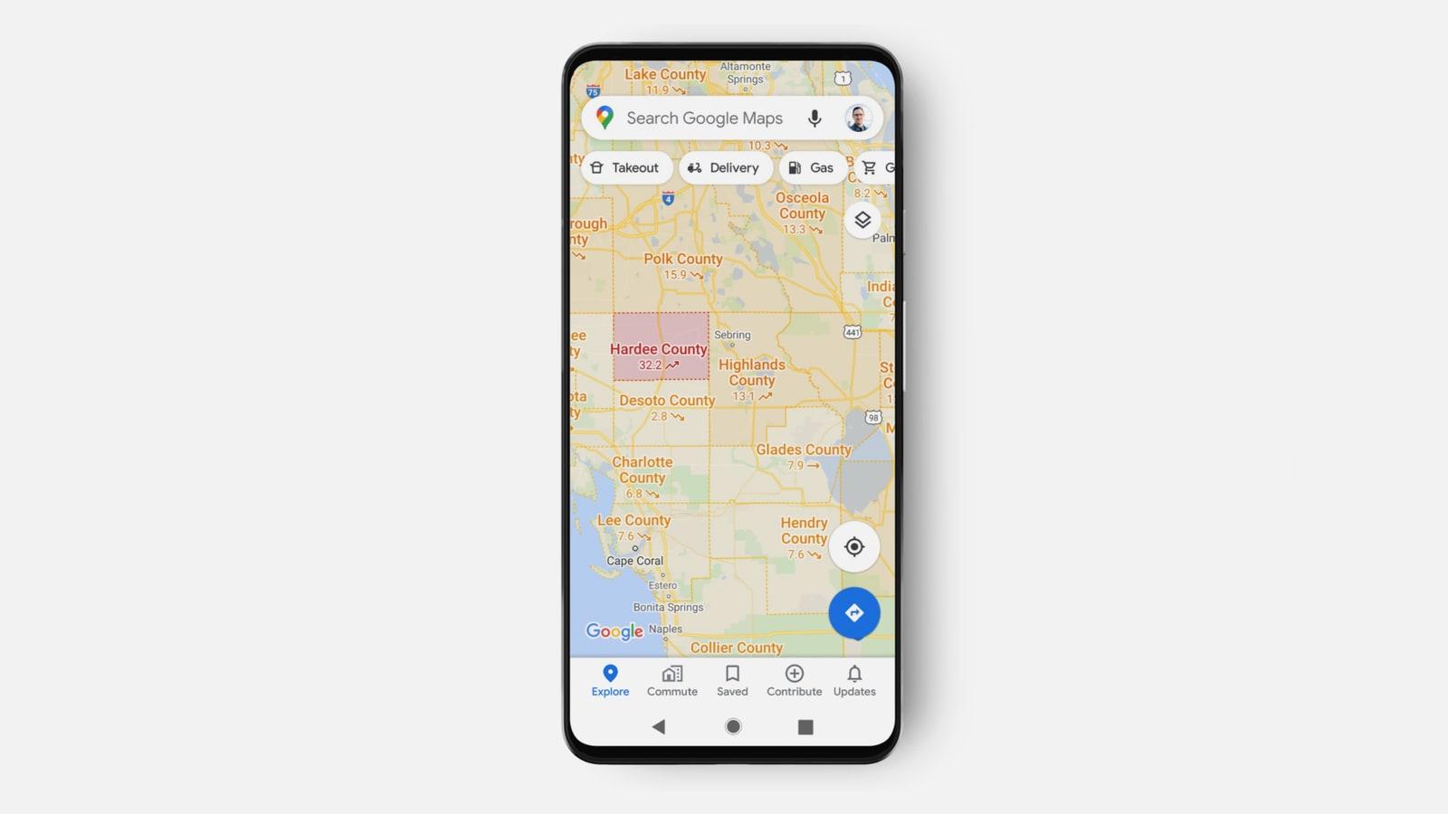 خرائط غوغل تحدّث تصميمها.. إليكم مظهرها الجديد