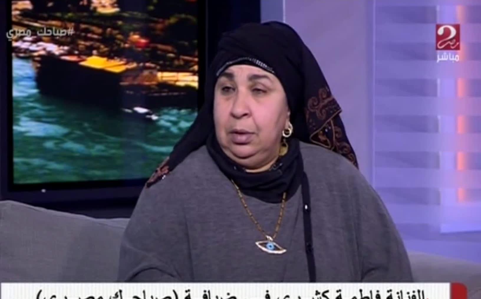 """رسالة غريبة من ممثلة مصرية للسيسي: إلبس """"كلاسين"""" علشان البرد"""