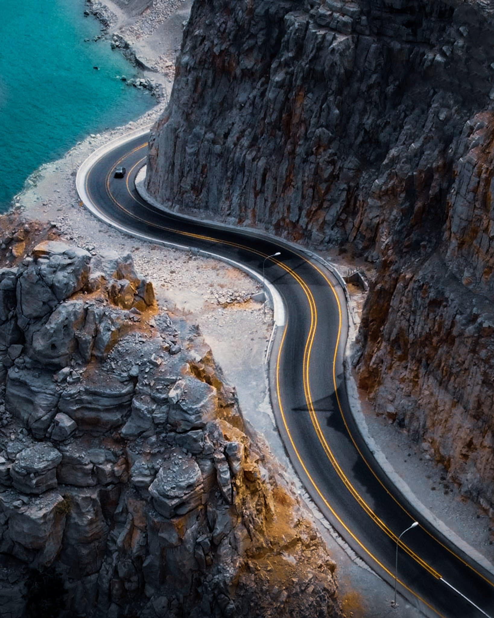 طريق مسندم الساحلي