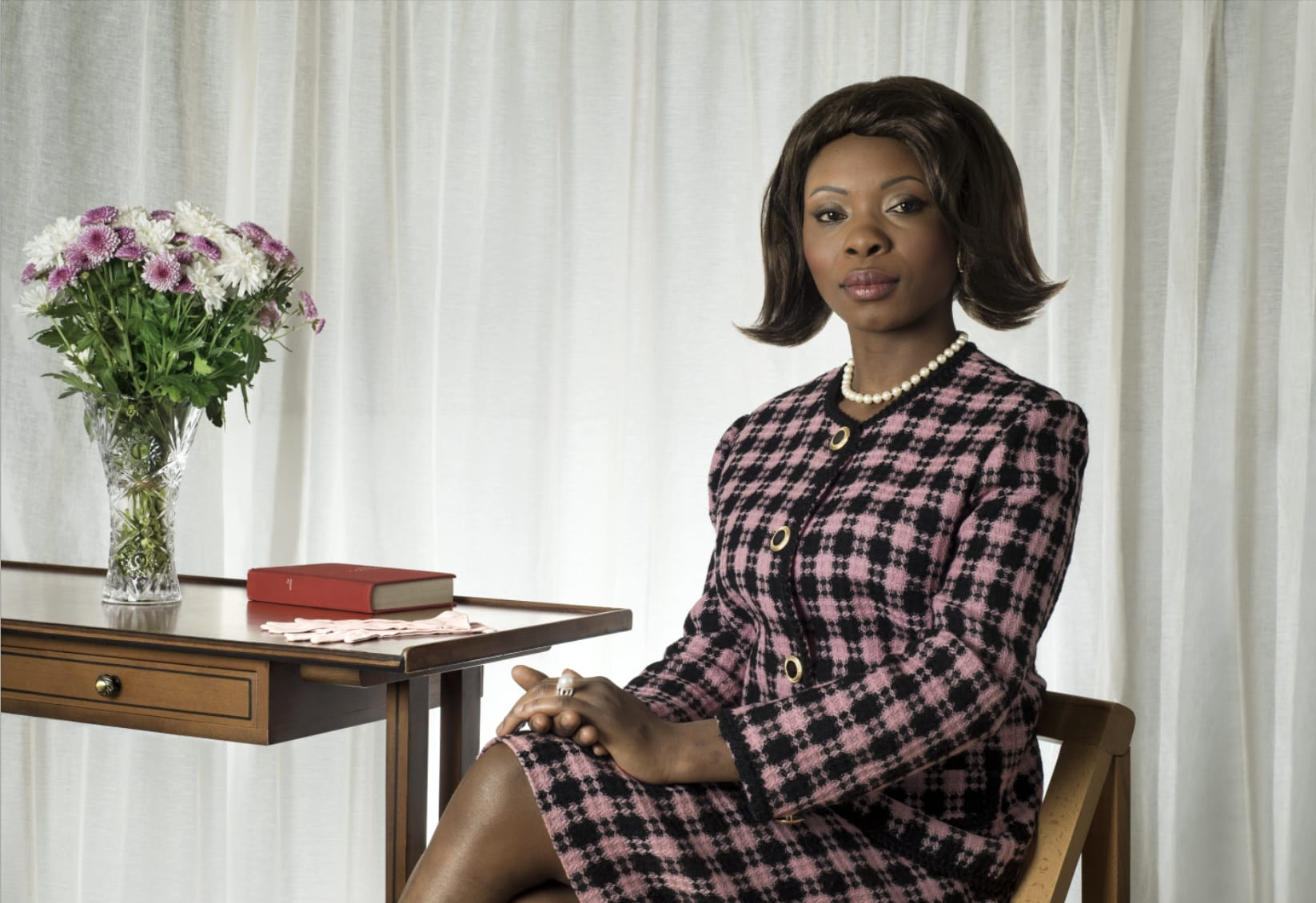 عارضة اختارت تجسيد دور السيدة الأولى السابقة جاكلين كينيدي