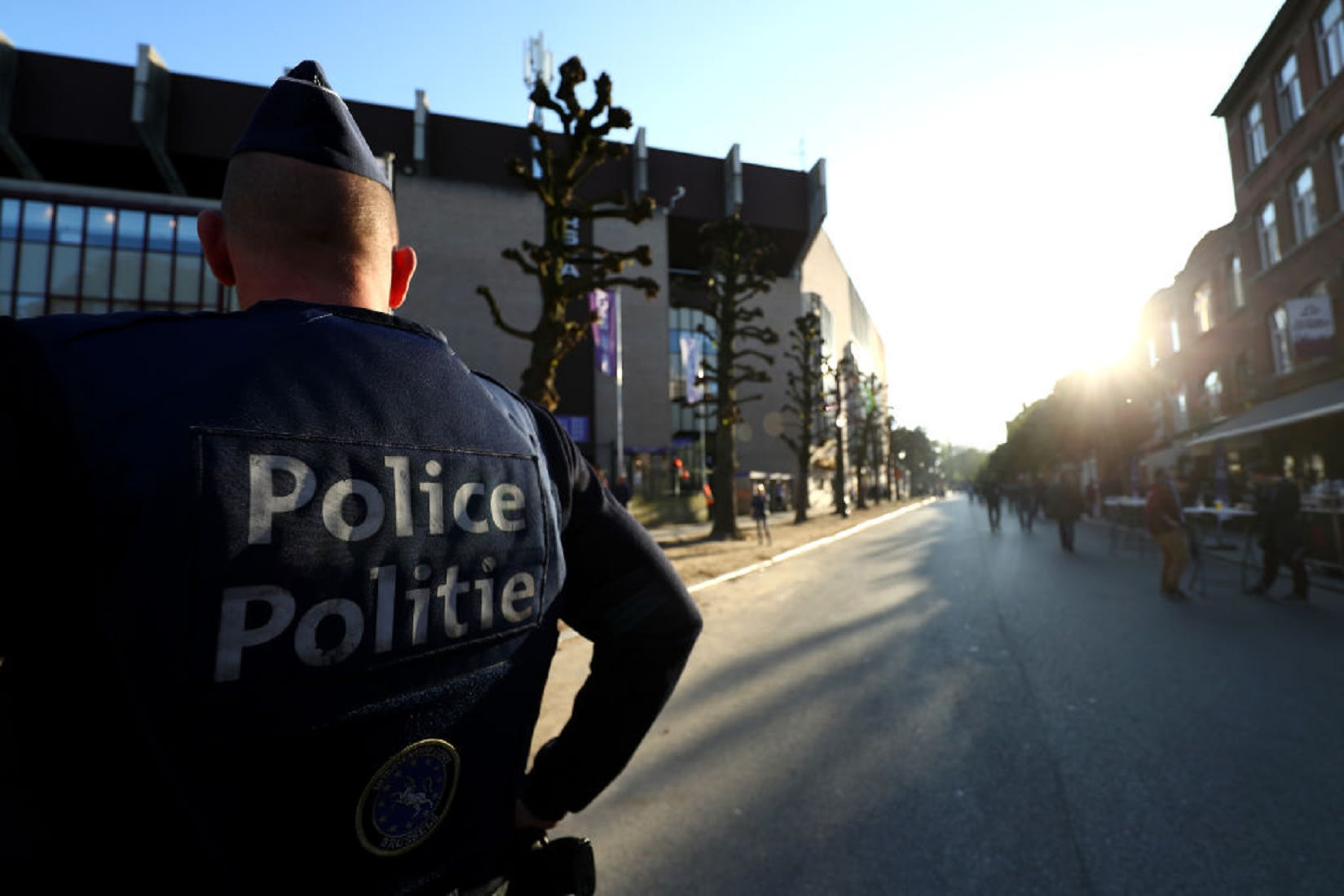 هجوم بسكين على ضابطي شرطة في بروكسل