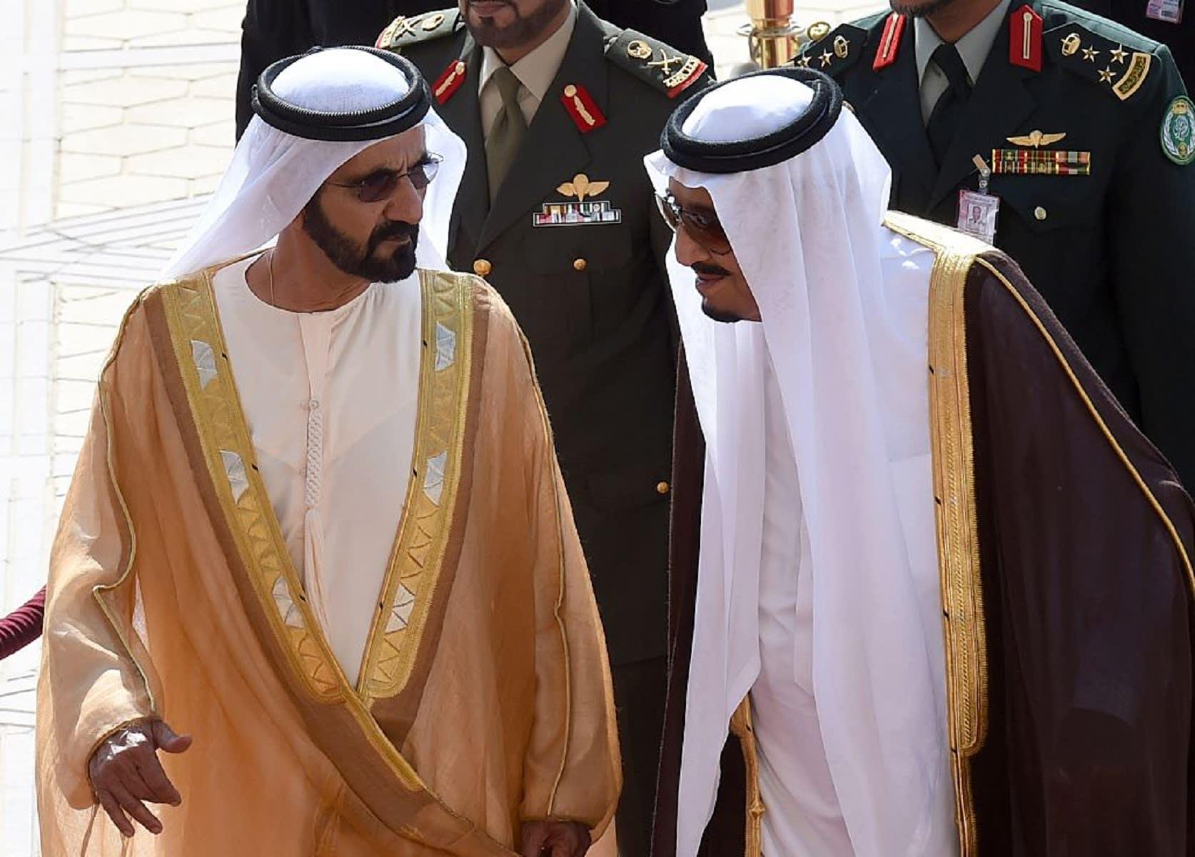 محمد بن راشد: الإمارات مع السعودية في السراء والضراء