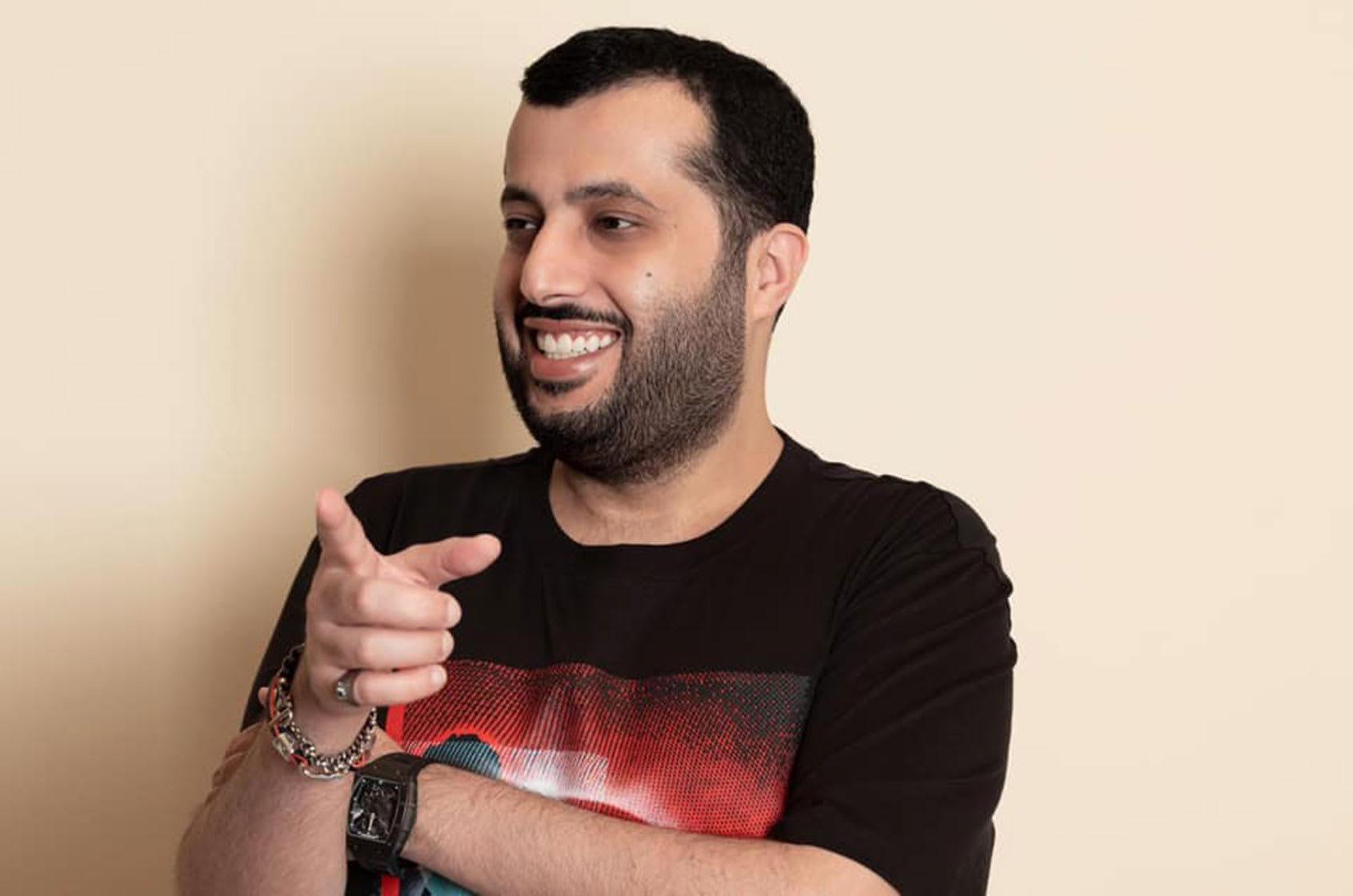 صورة أرشيفية لتركي آل الشيخ