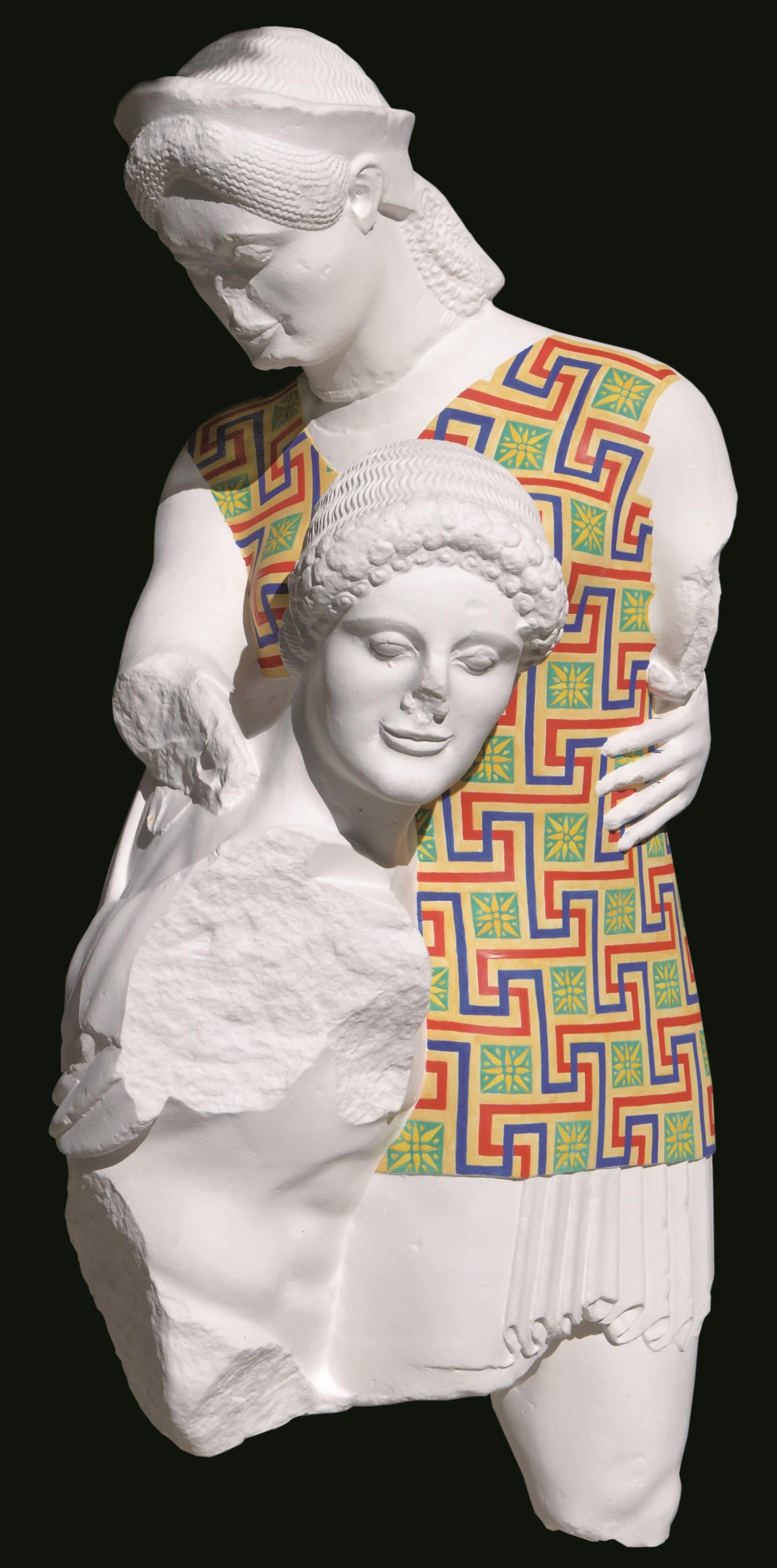 """""""الآلهة بالألوان"""".. مشروع يُعيد الآثار إلى عظمتها السابقة"""