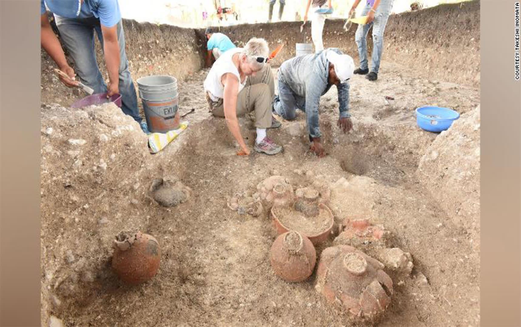 اكتشاف أقدم وأكبر معبد يعود لحضارة المايا في المكسيك