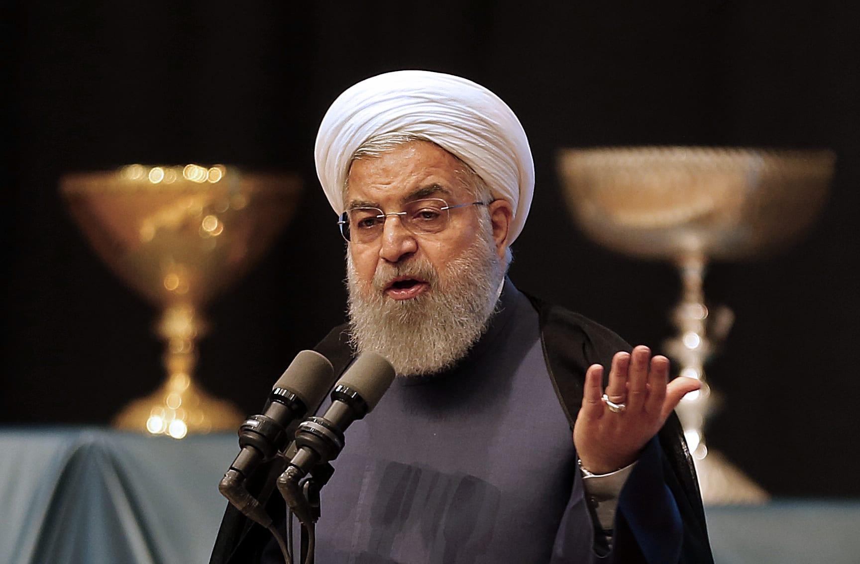 """روحاني: فرض أمريكا سياستها على العالم """"خطر كبير"""""""