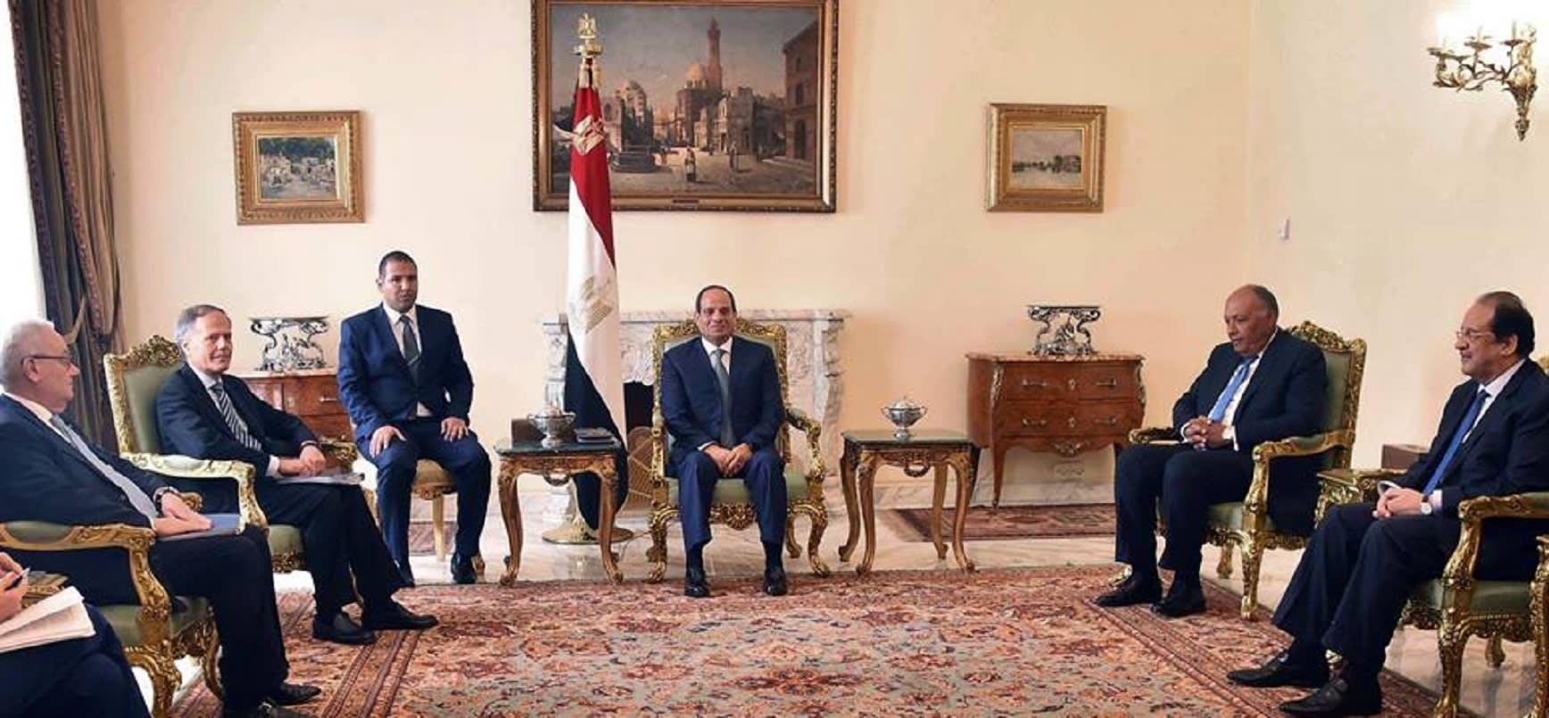5 ملفات في لقاء رئيس مصر ووزير خارجية إيطاليا.. ماذا قال السيسي عن ريجيني؟