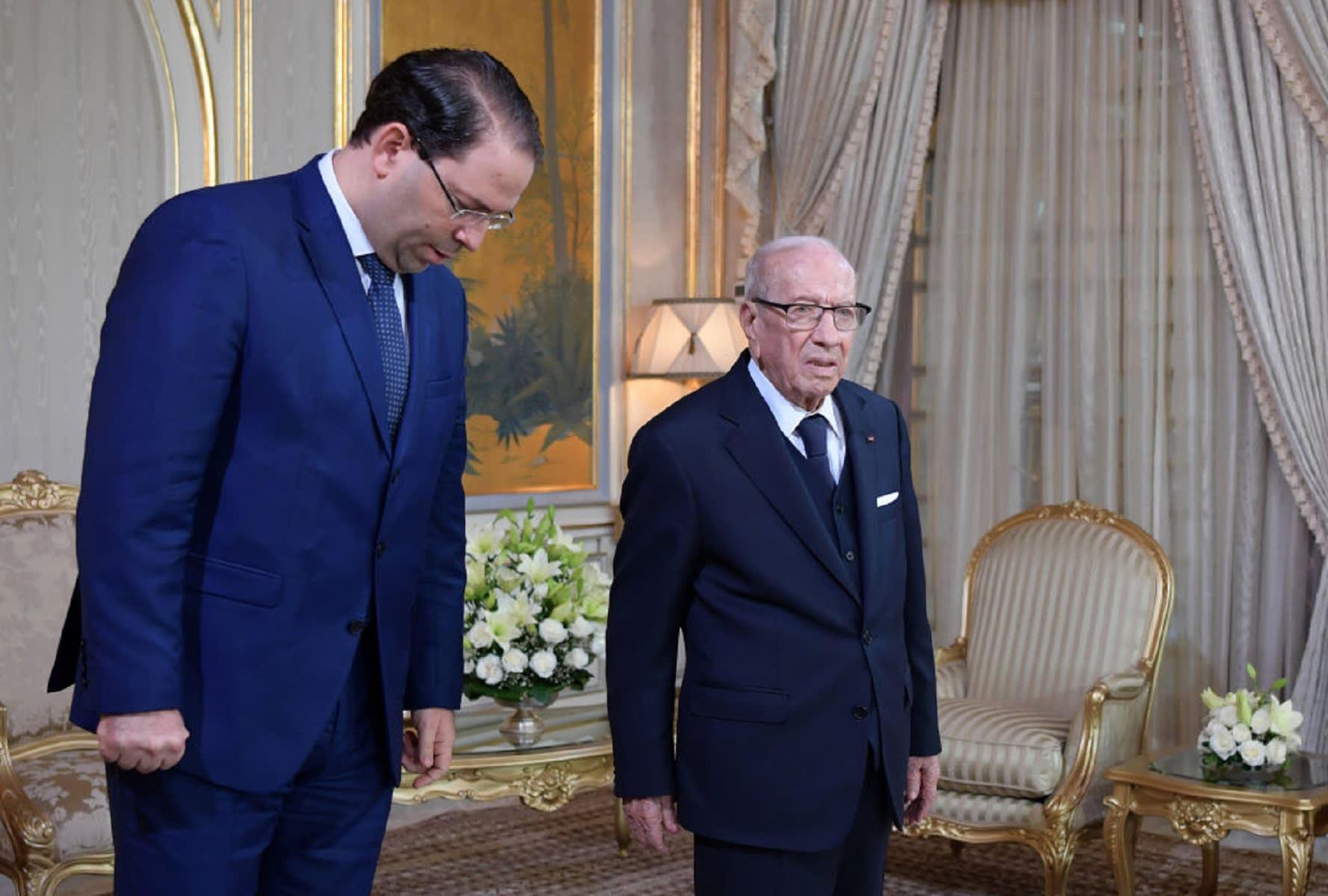 """""""نداء تونس"""" تتهم رئيس الحكومة بـ""""الشروع في تنفيذ انقلاب"""""""