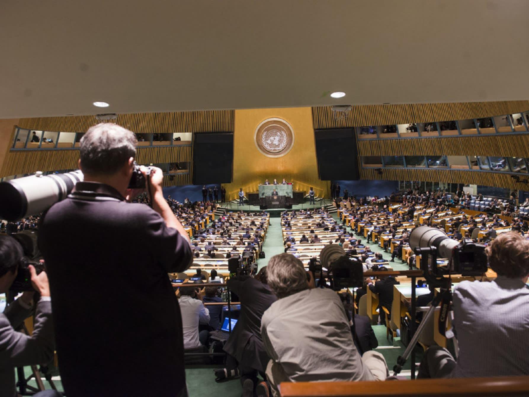 الأمم المتحدة تفشل في تبني قرار أمريكي يدين حماس