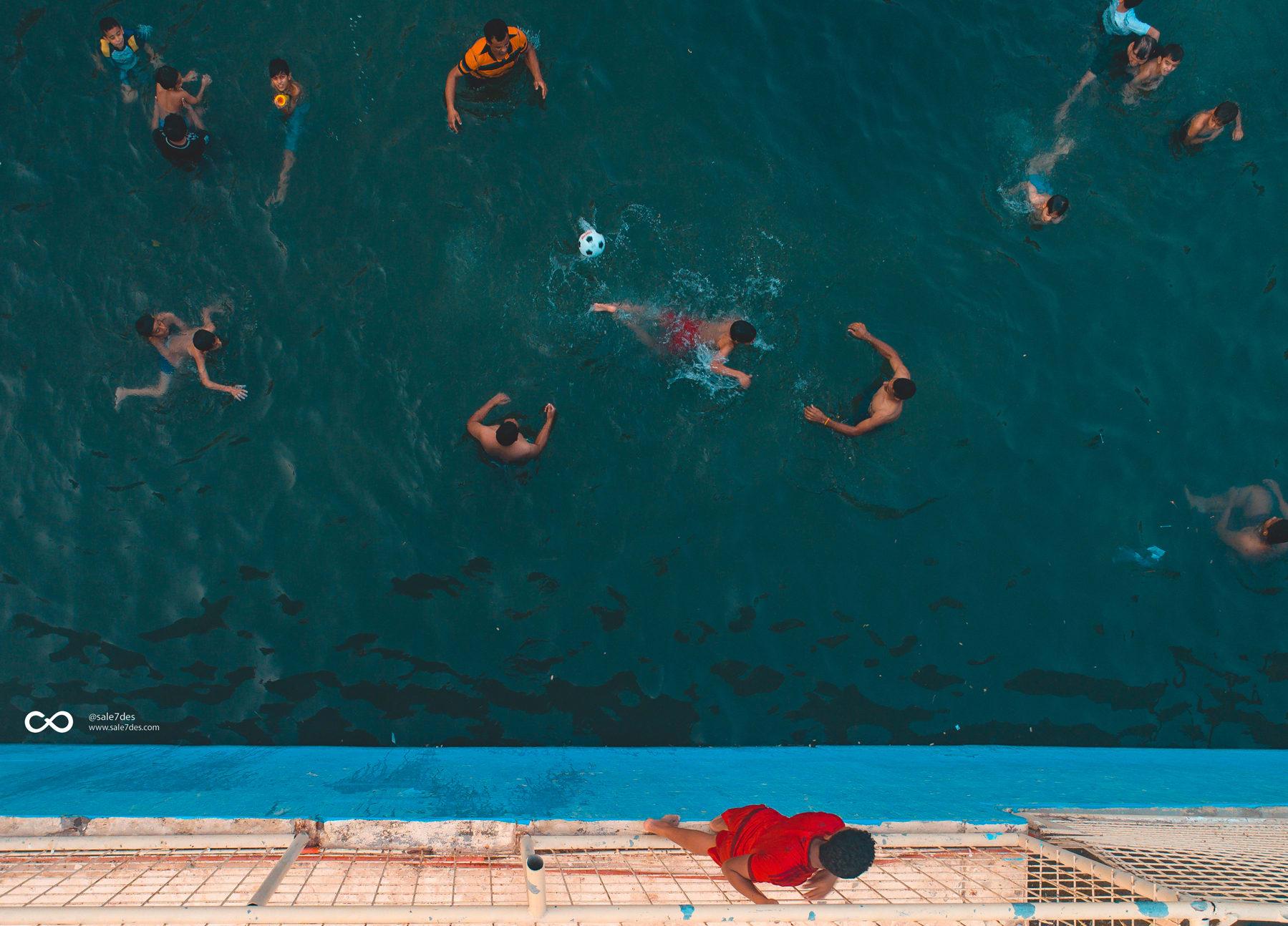 عيون الأحساء..هنا يسبح السعوديون خلال فصل الصيف