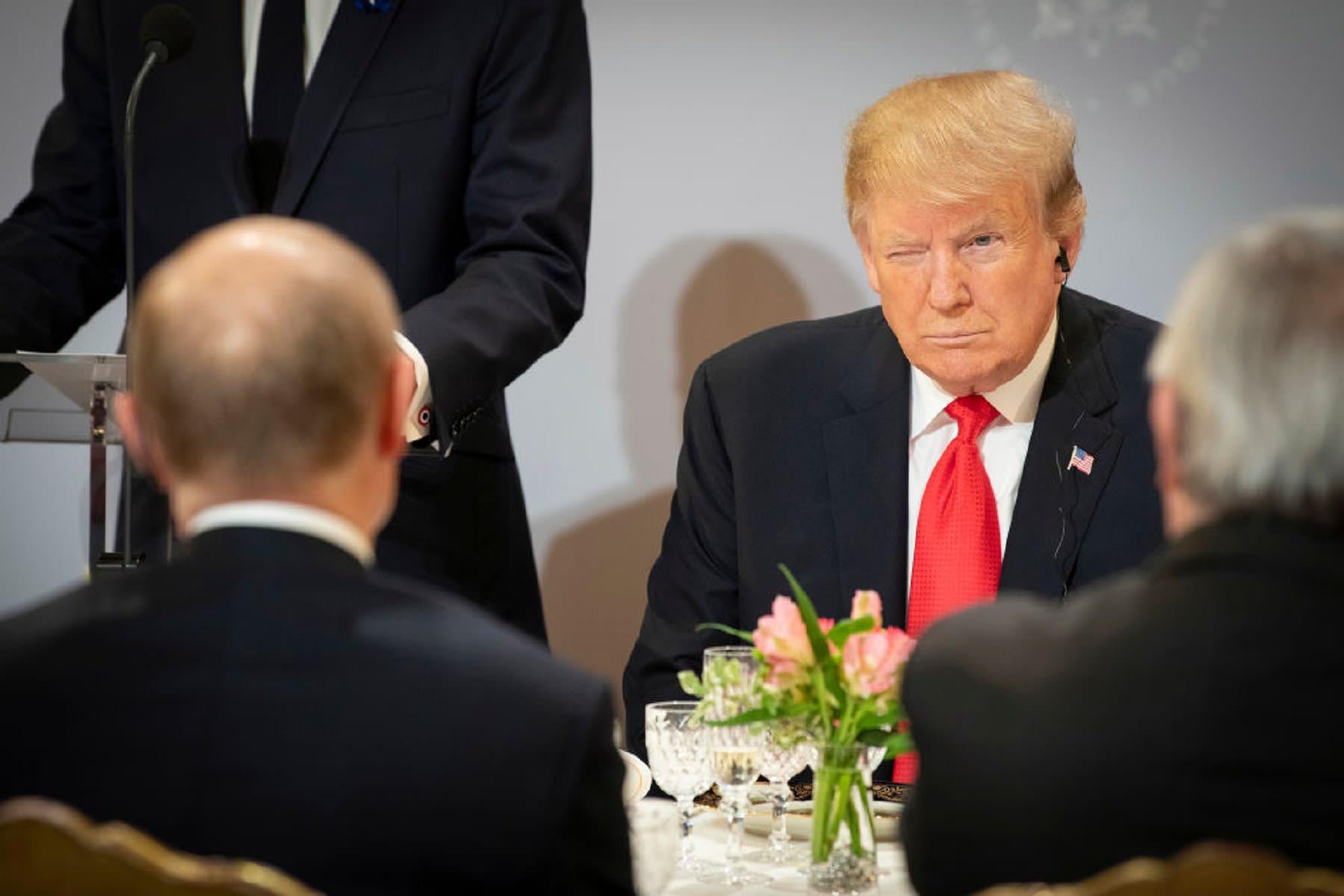 ترامب يلغي القمة المرتقبة مع بوتين على هامش قمة العشرين