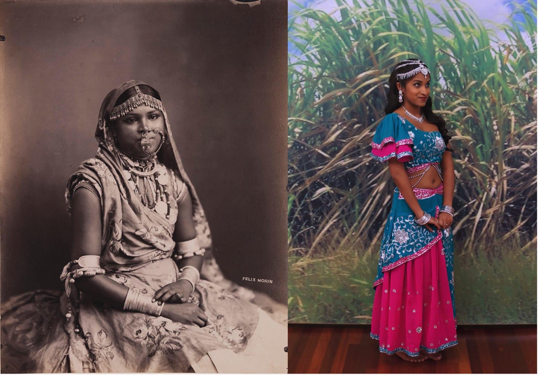 لم أصبحت الهنديات وجوهاً لهذه البطاقات البريدية في العصر الفيكتوري؟