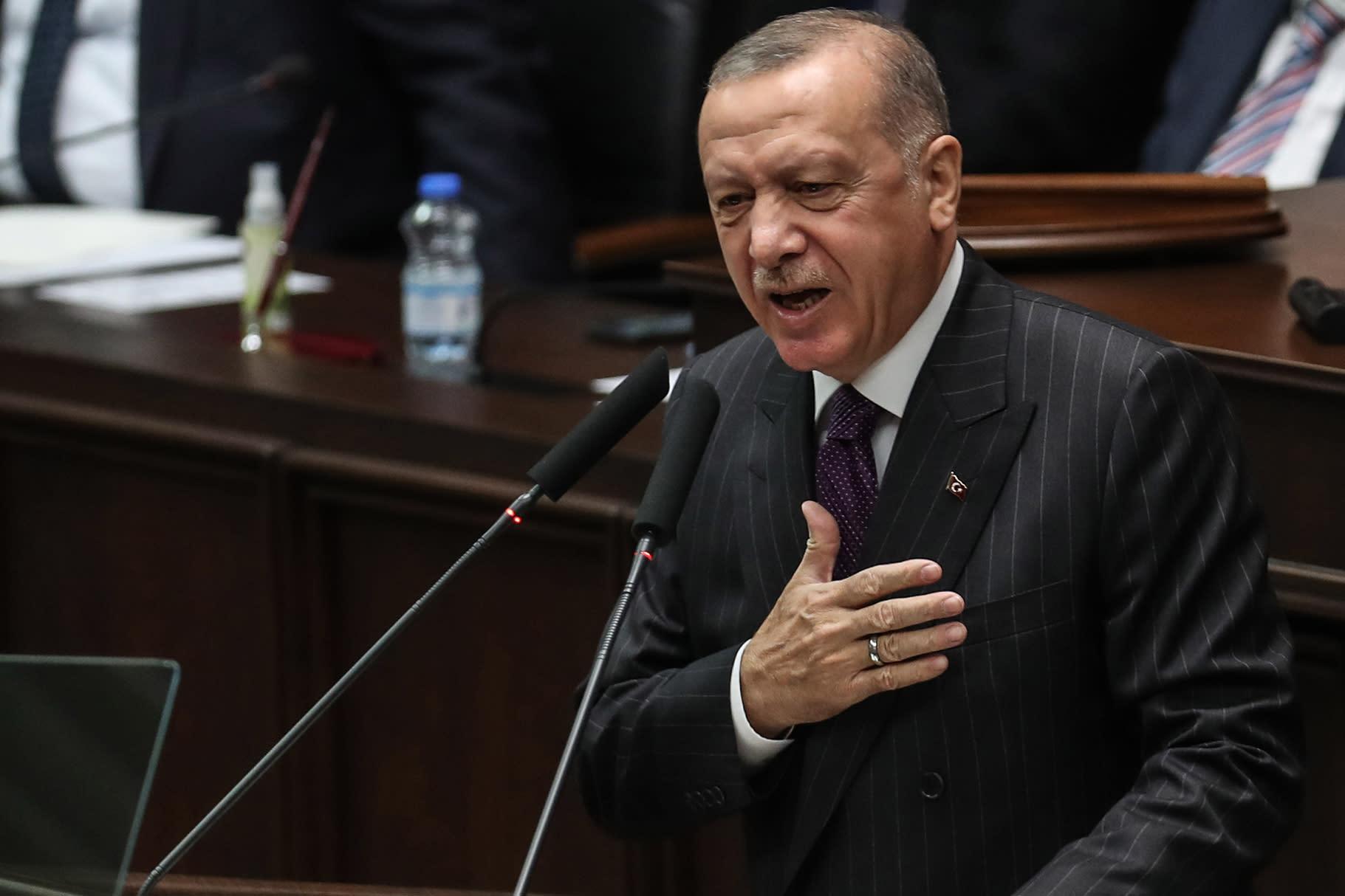 صورة ارشيفية للرئيس التركي، رجب طيب أردوغان