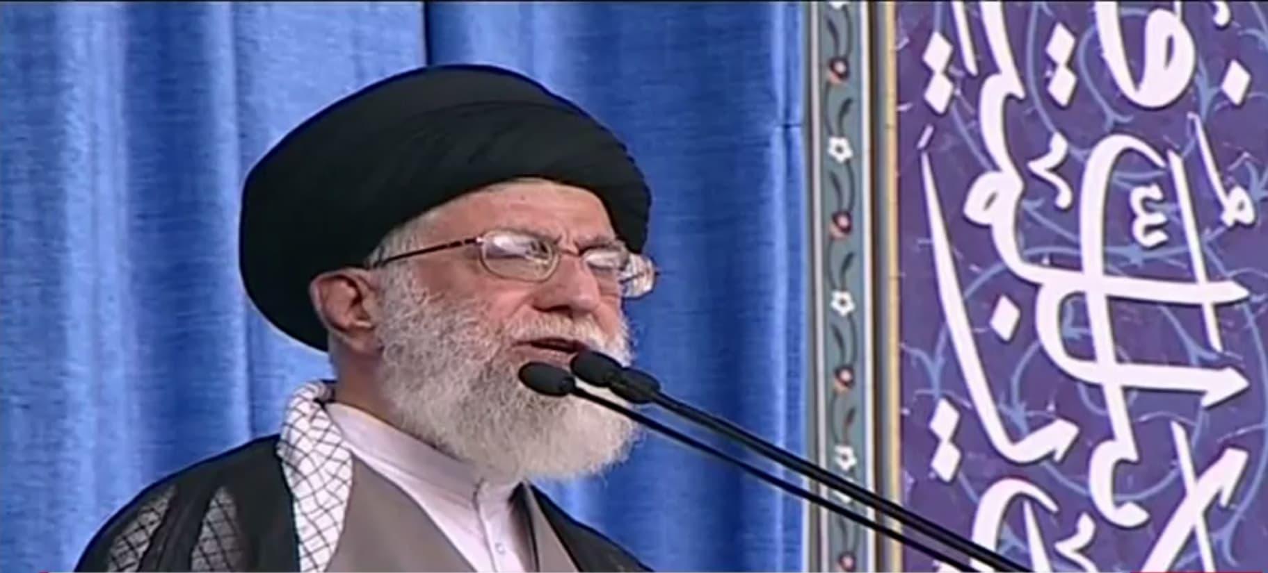 """خامنئي: احتجاز البحارة الأمريكيين يُعبّر عن """"إيمان"""" الحرس الثوري الإيراني"""