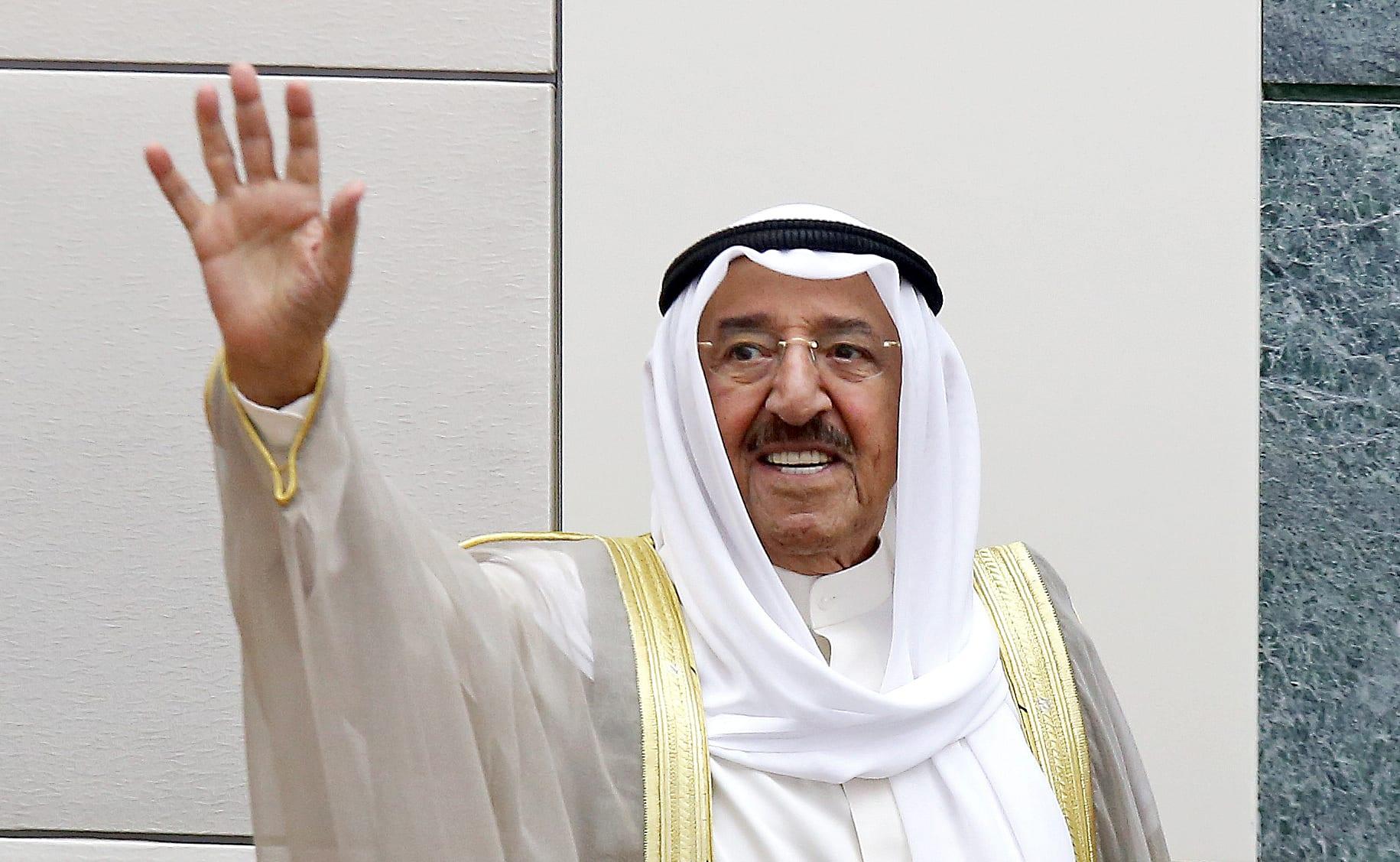 صورة أرشيفية لأمير الكويت الراحل الشيخ صباح الصباح