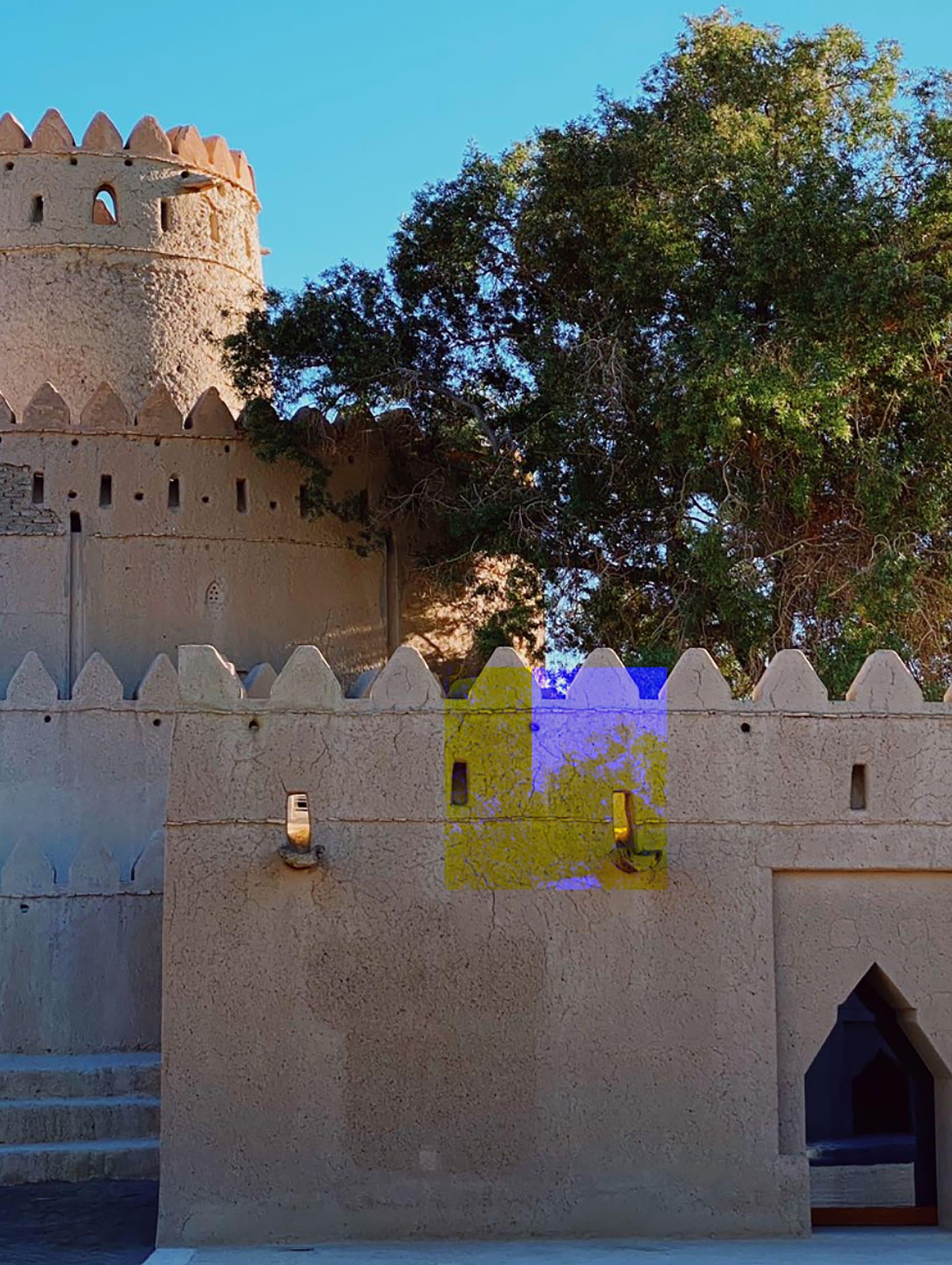 قلعة الجاهلي في الإمارات