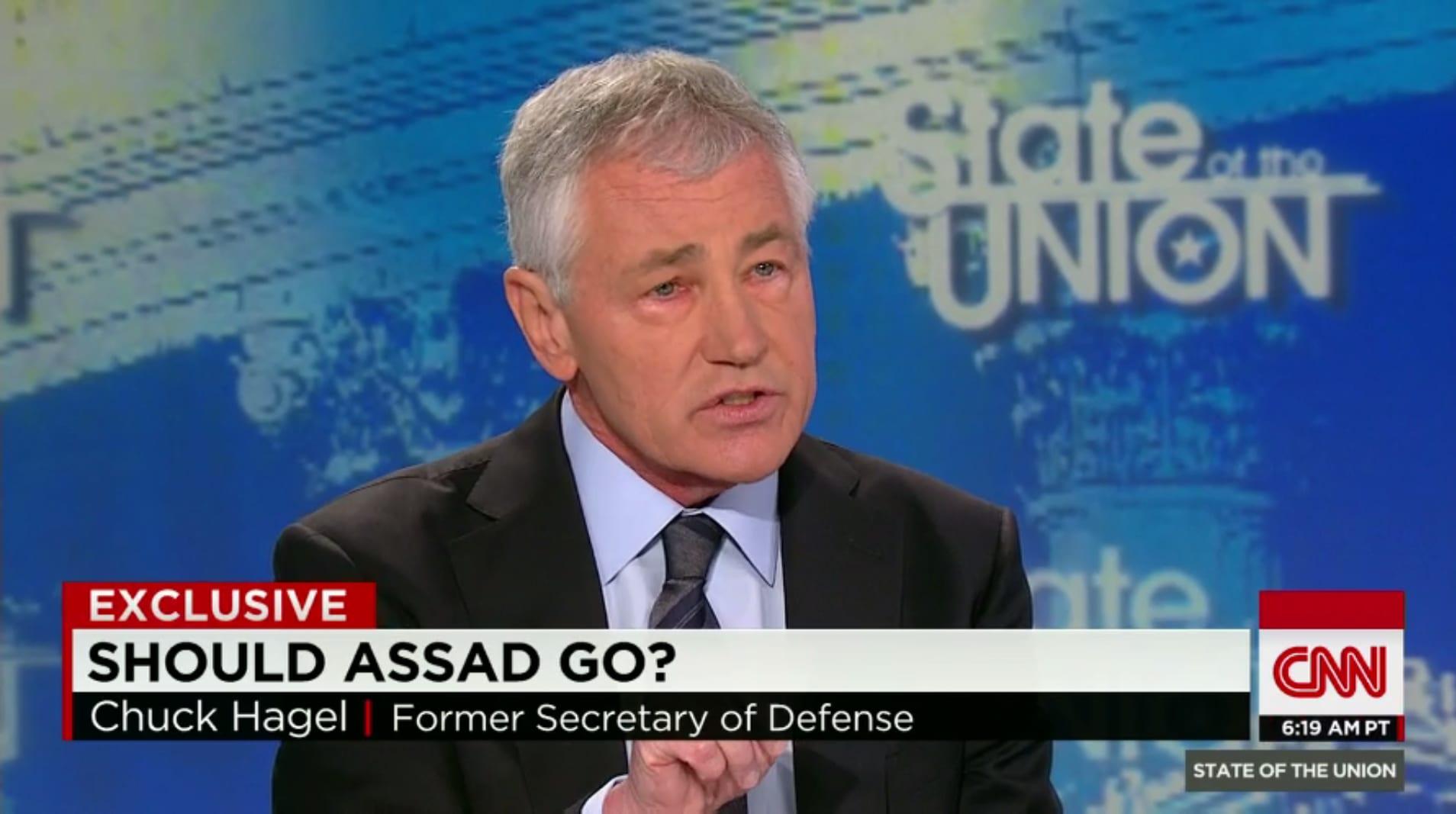 """وزير الدفاع الأمريكي السابق: يجب على أمريكا التركيز على """" داعش"""" وليس الأسد"""