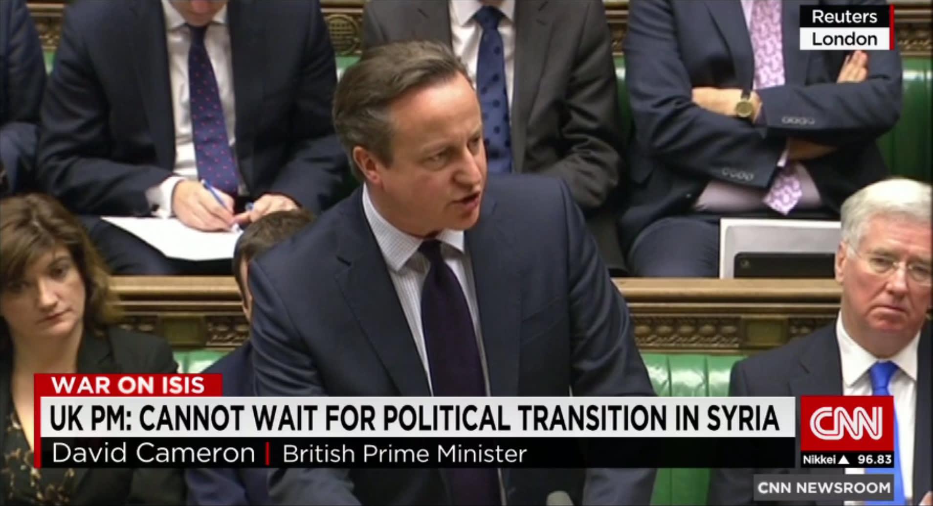 كاميرون للبرلمان البريطاني: علينا مهاجمة داعش في سوريا الآن.. والأسد لا يمكن أن يكون جزءا من حل الأزمة