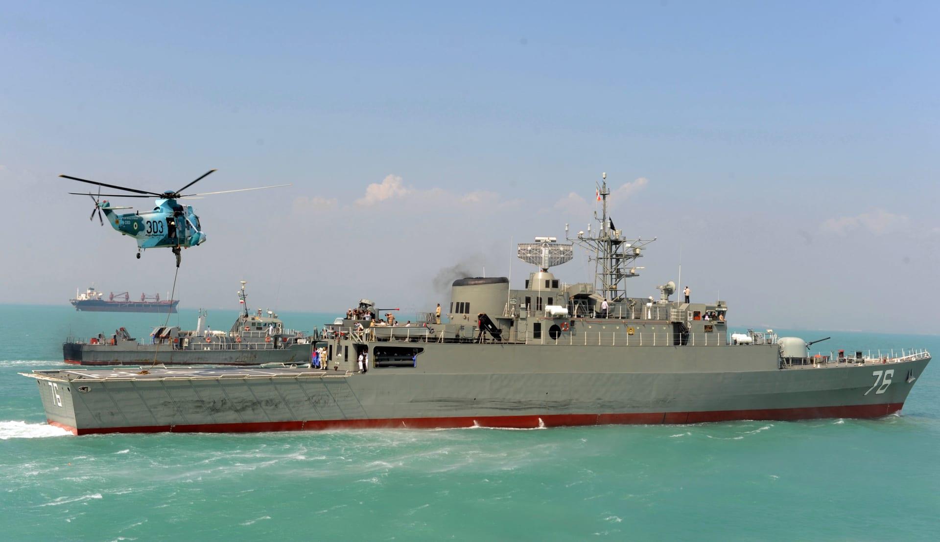 إيران: سفننا الحربية بالأطلسي لأول مرة