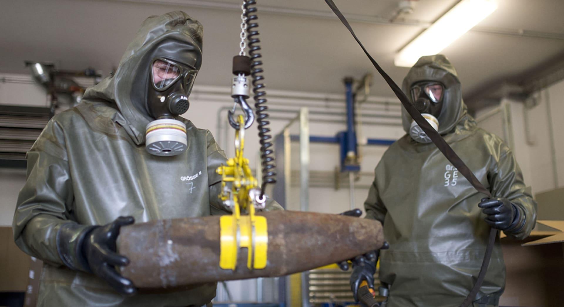 الأمم المتحدة: سوريا علقت نقل الكيماوي لدواع أمنية