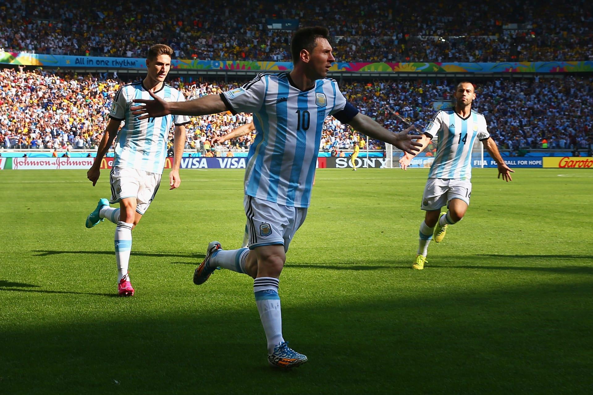 كأس العالم 2014: ميسي ينقذ الأرجنتين ويؤهلها بهدف في مرمى إيران بالوقت القاتل