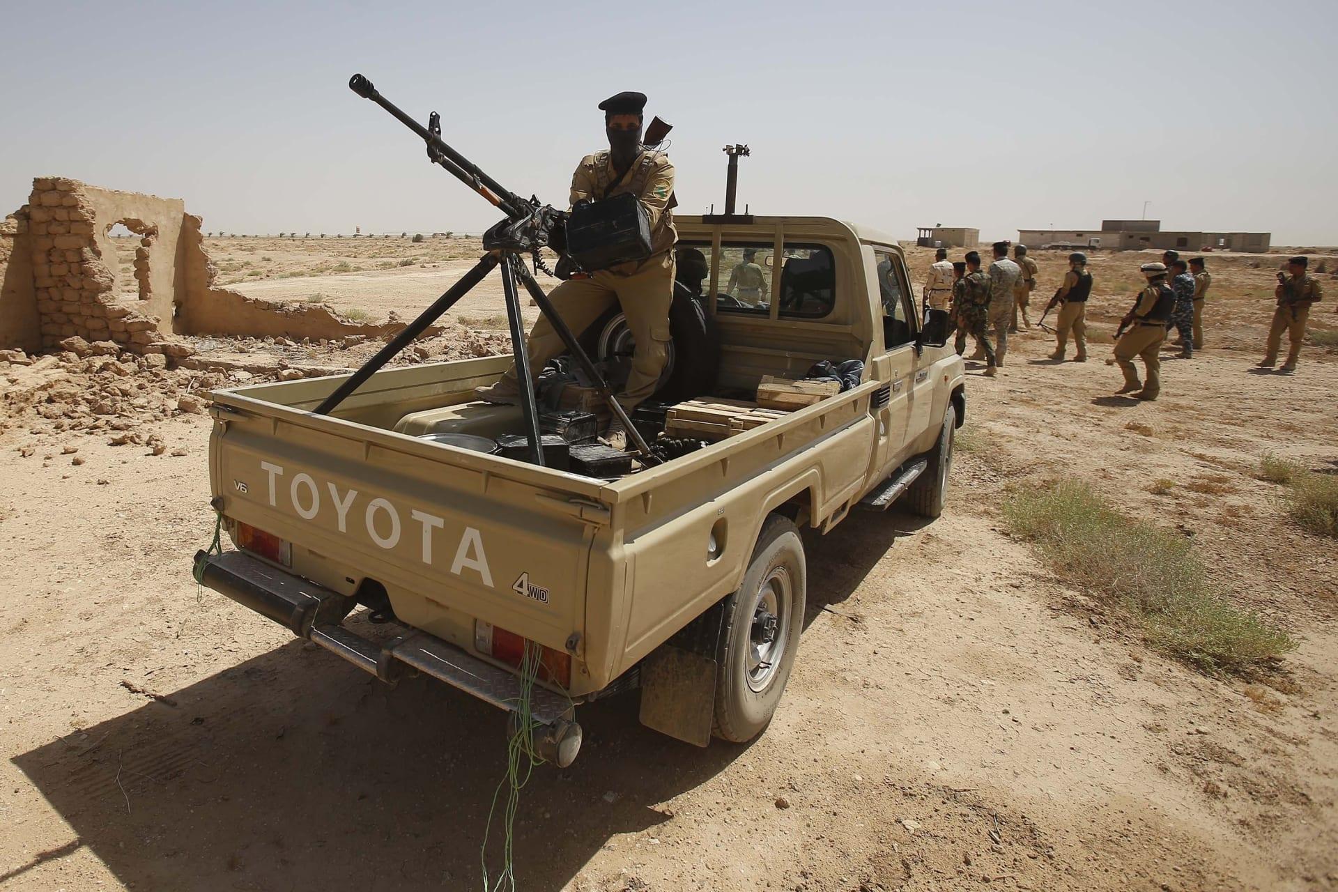 الجيش العراقي: قواتنا منتشرة لم ينسحب من حدود السعودية إلا بعض المرتشين