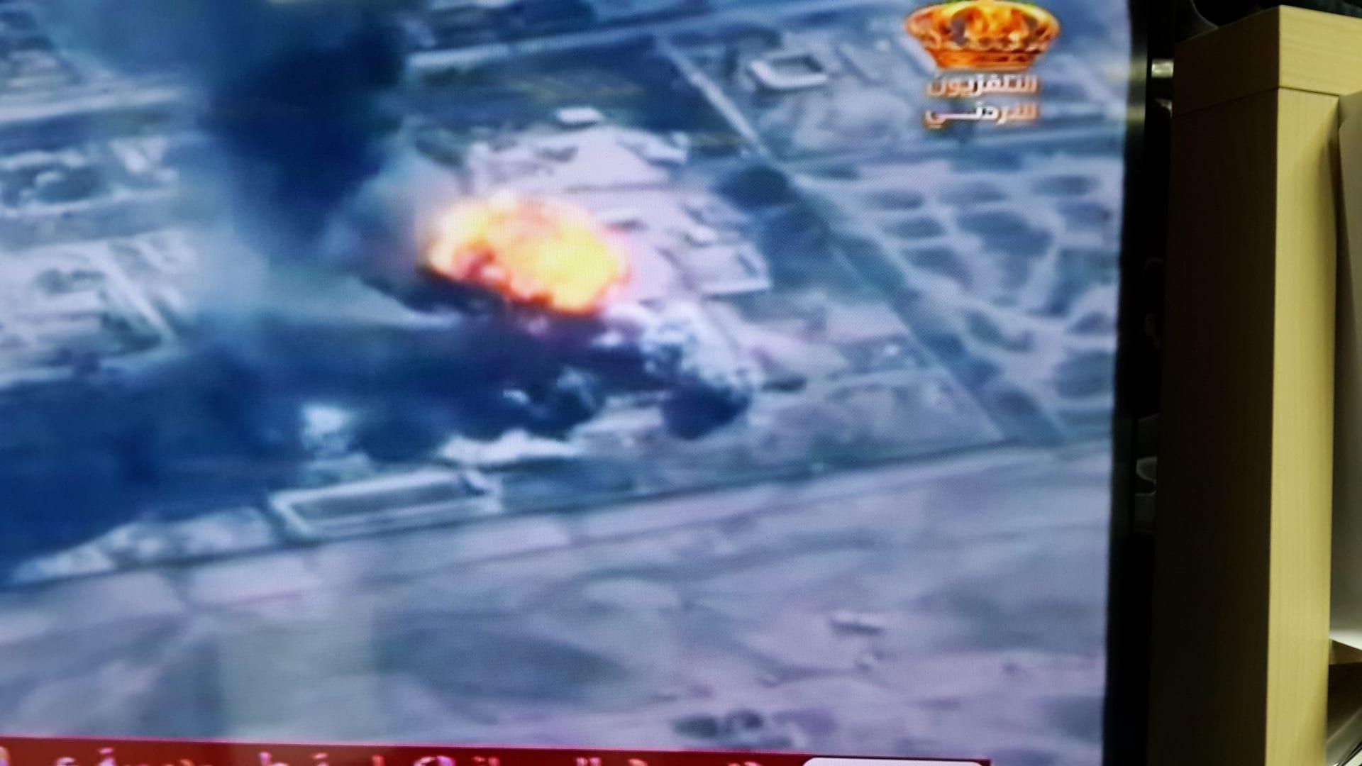 """20 مقاتلة أردنية F-16  بصحبة طائرات أمريكية تقصف """"داعش"""" في الجولة الثانية من عملية """"الشهيد معاذ"""""""