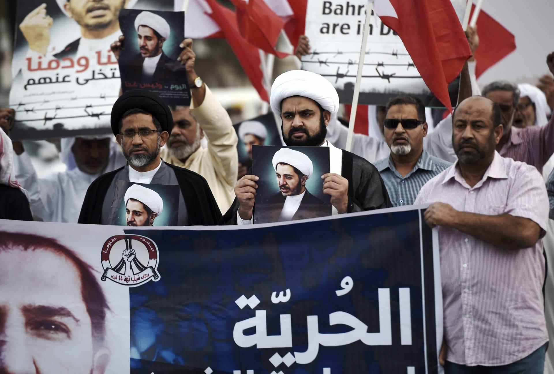 """علي السلمان للبحرينيين من سجنه: تمسكوا بهدف """"المملكة الدستورية"""" وسلمية الوسائل"""
