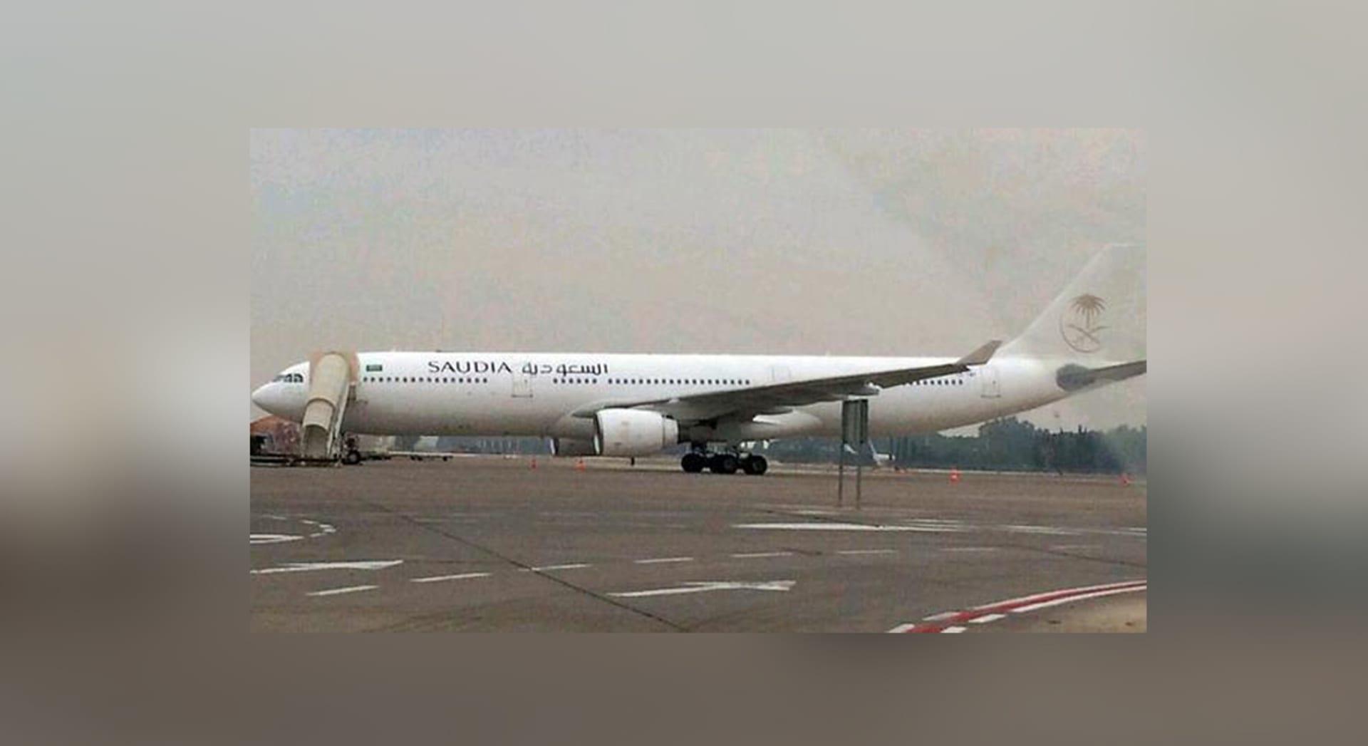 """طائرة سعودية في مطار إسرائيلي.. و""""الخطوط"""" تنفي وتتأكد من حقيقة الحادثة"""