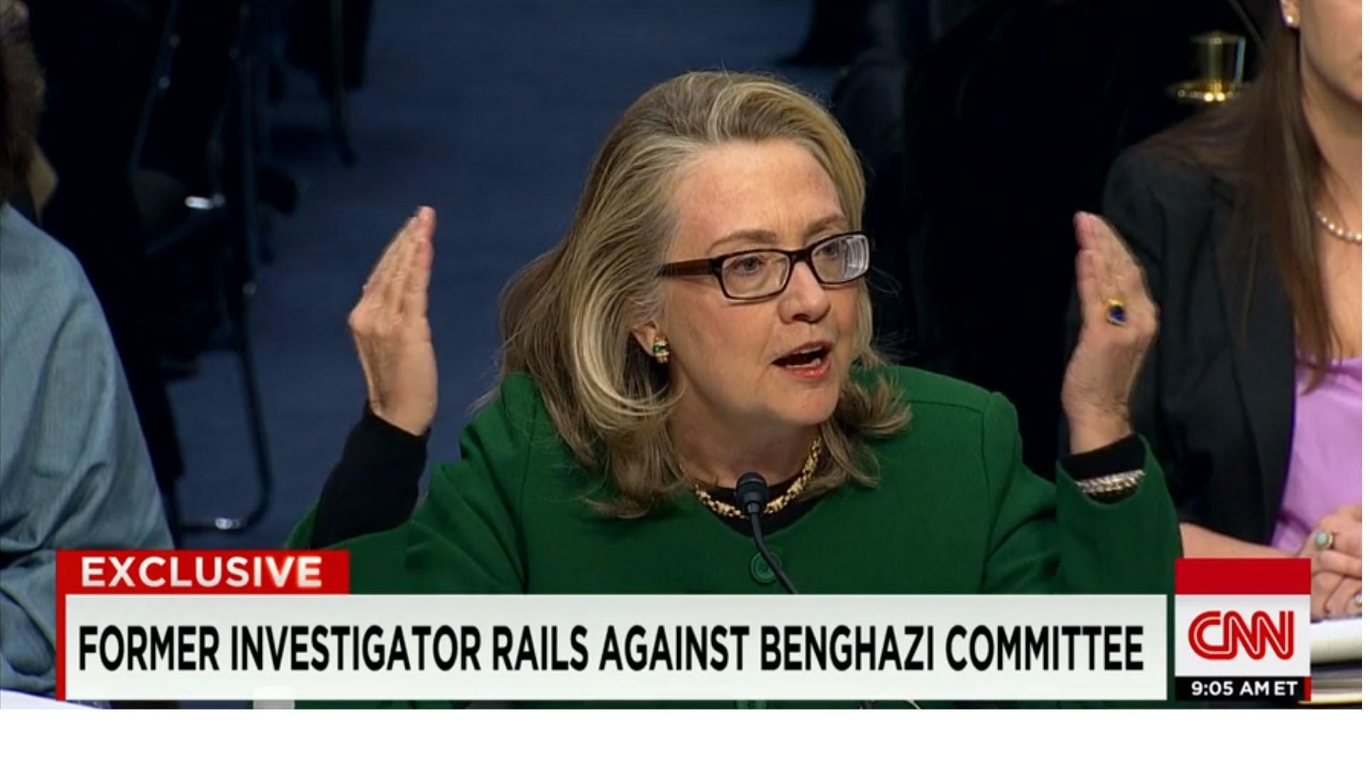 """محقق سابق بـ""""هجوم بنغازي"""" يتهم الجمهوريين باستهداف كلينتون في """"تحقيق حزبي"""""""